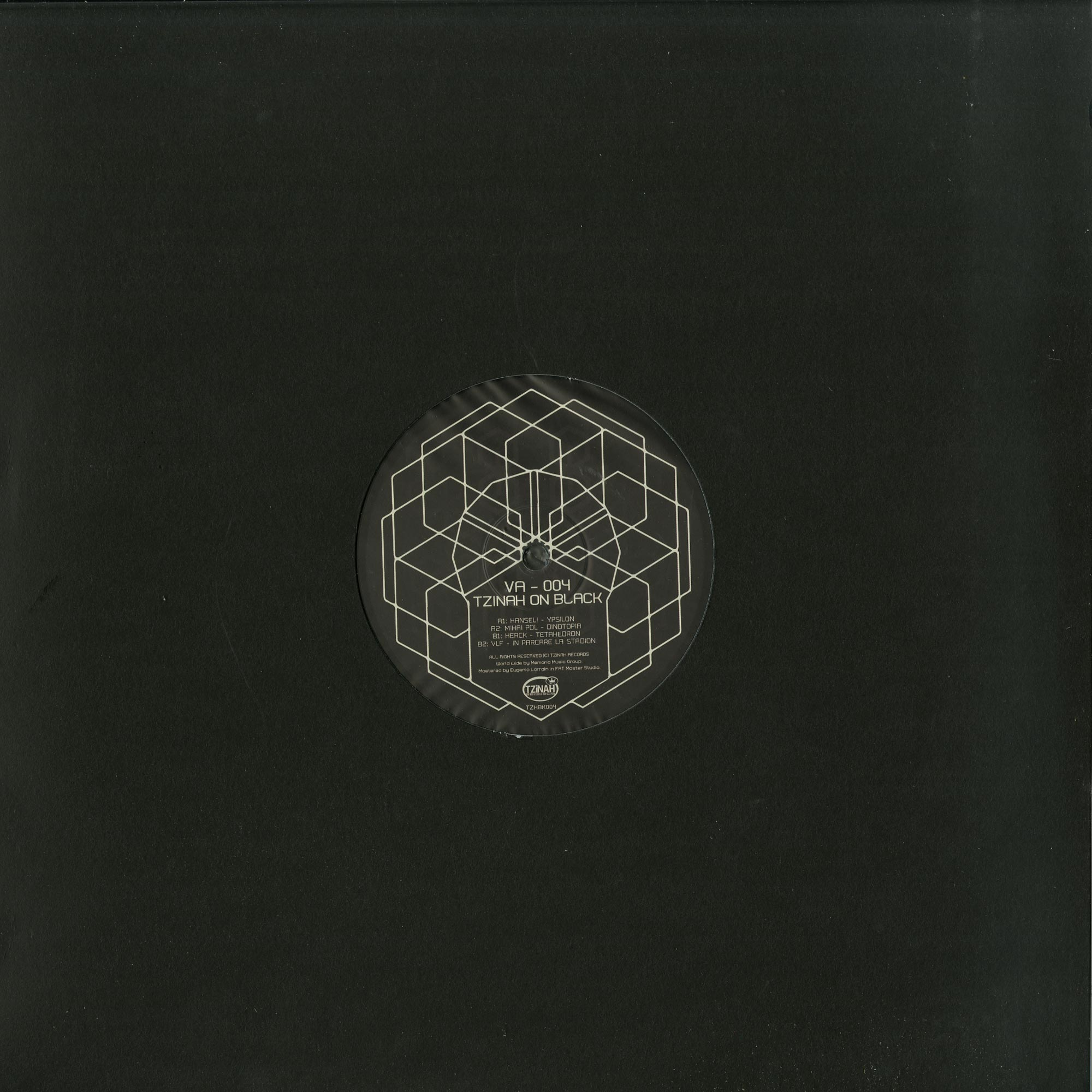 Various Artists - TZINAH ON BLACK 004