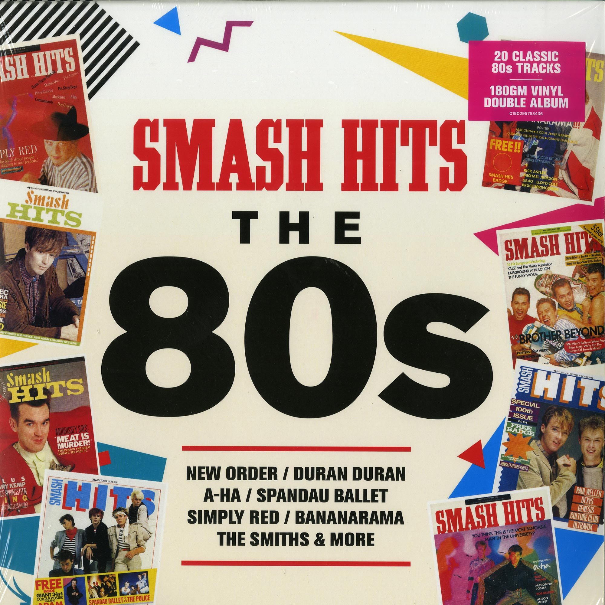 Various Artists - SMASH HITS - THE 80S