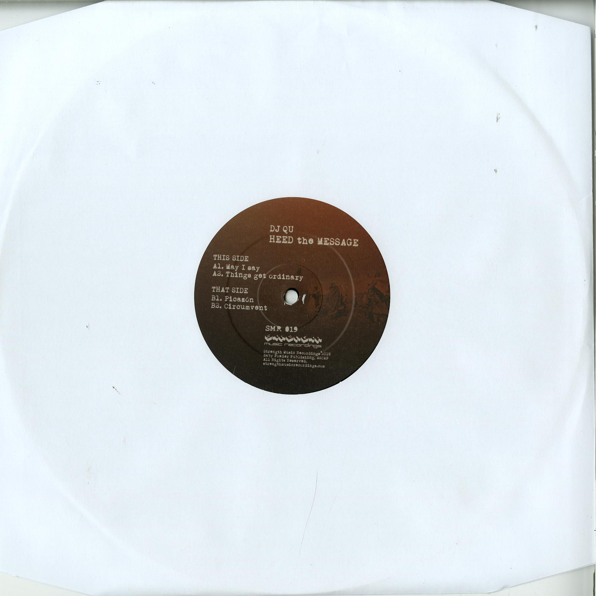 DJ QU - HEED THE MESSAGE