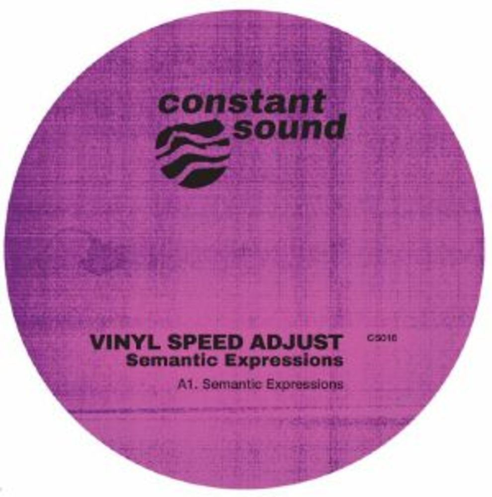 Vinyl Speed Adjust - SEMANTIC EXPRESSIONS