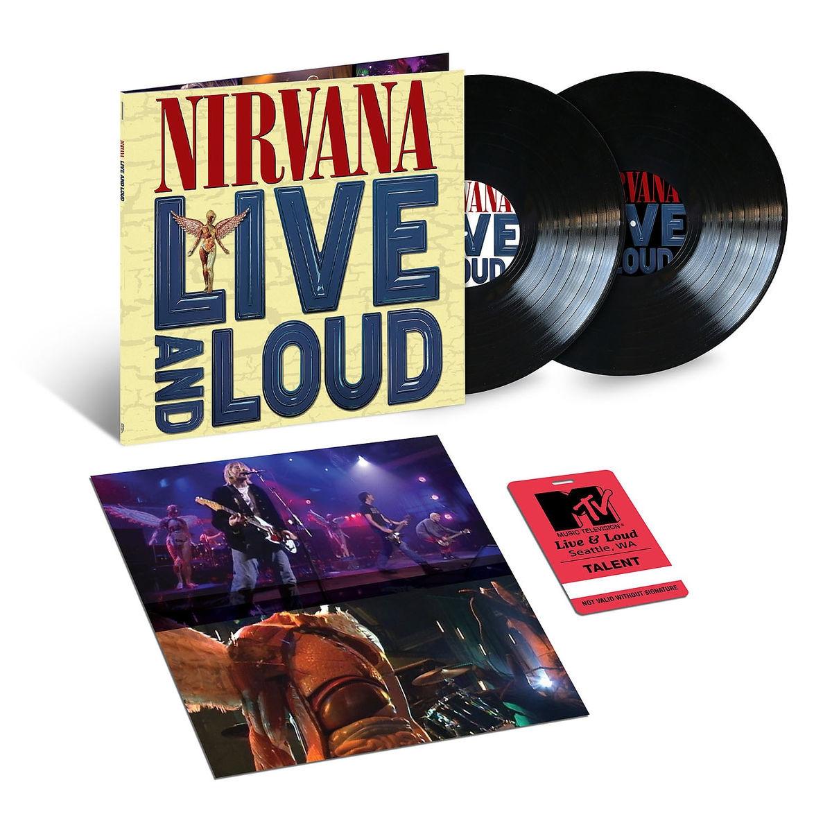 Nirvana - LIVE AND LOUD