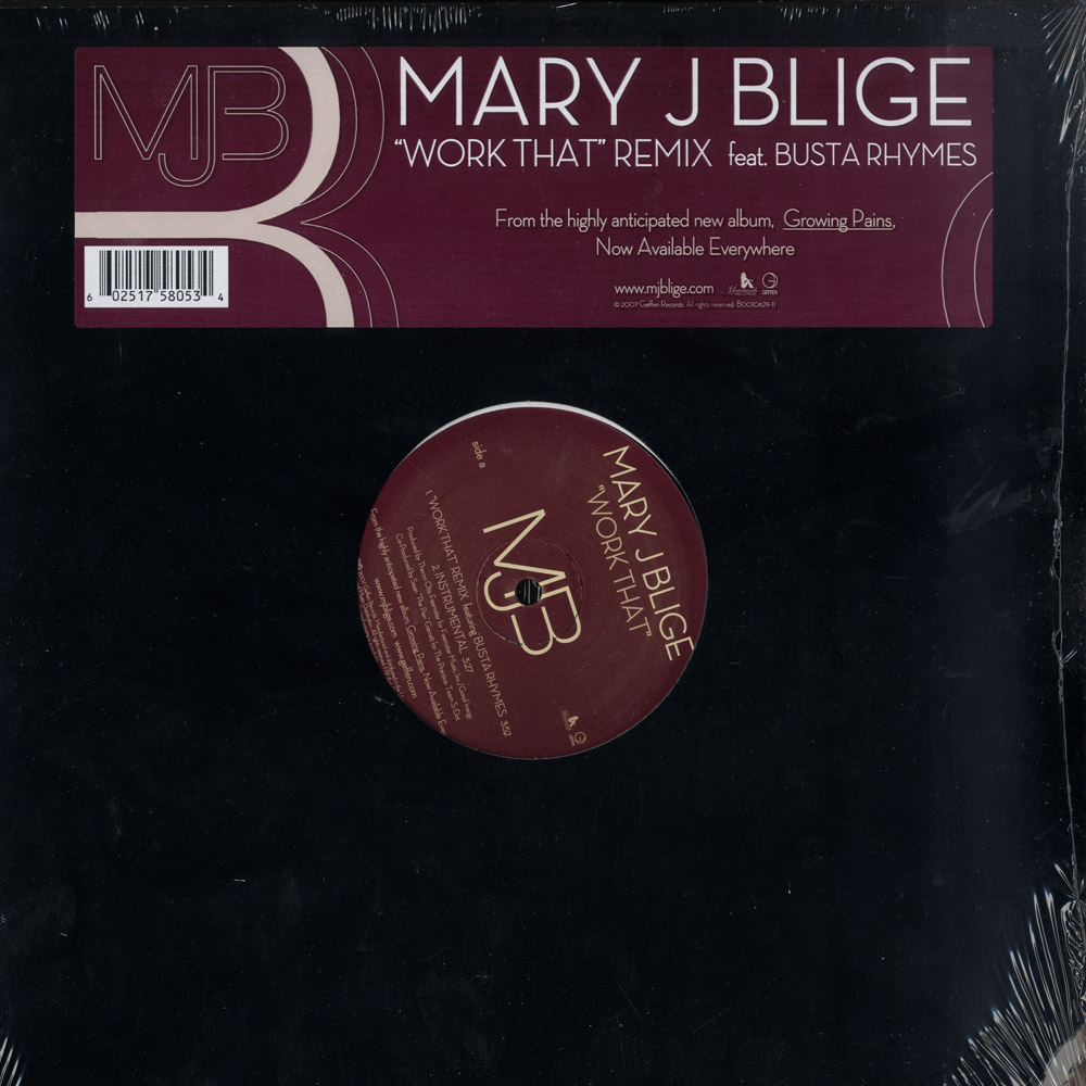 Mary J Blige - WORK THAT REMIX FEAT. BUSTA RHYMES