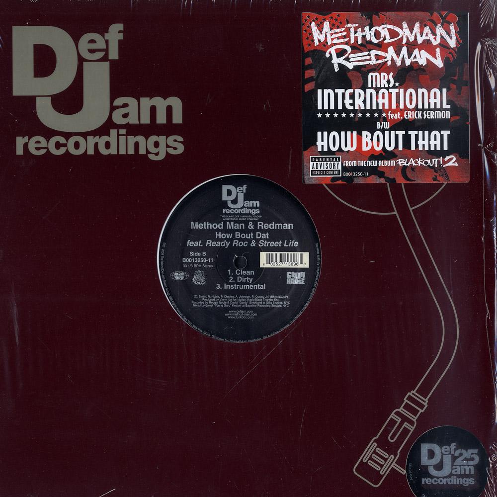 Method Man & Redman - MRS INTERNATIONAL FT.ERICK SERMON