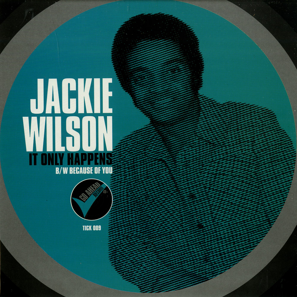 Jackie Wilson - IT ONLY HAPPENS / BECAUSE OF YOU