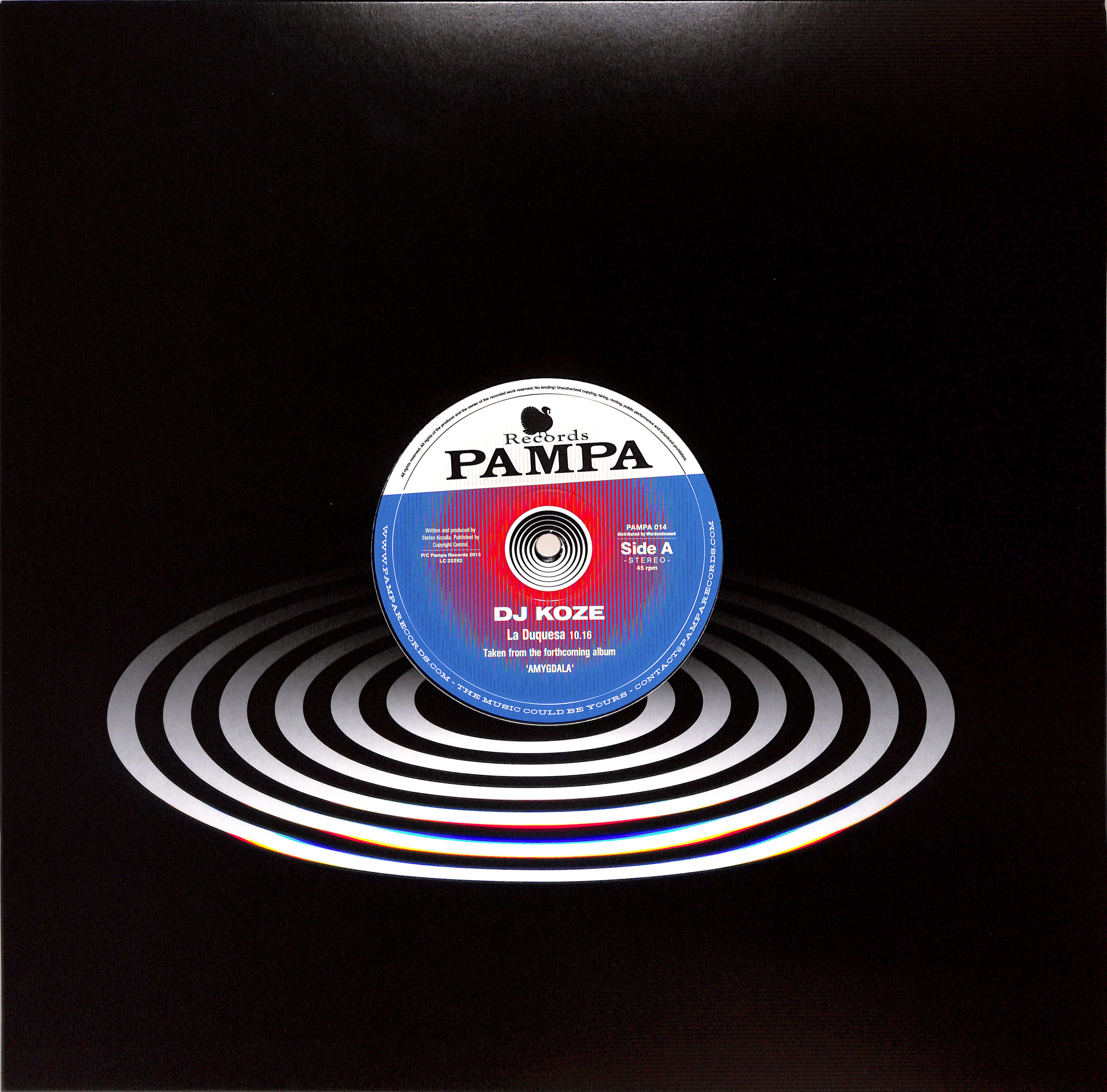 DJ Koze - LA DUQUESA / BURN WITH ME