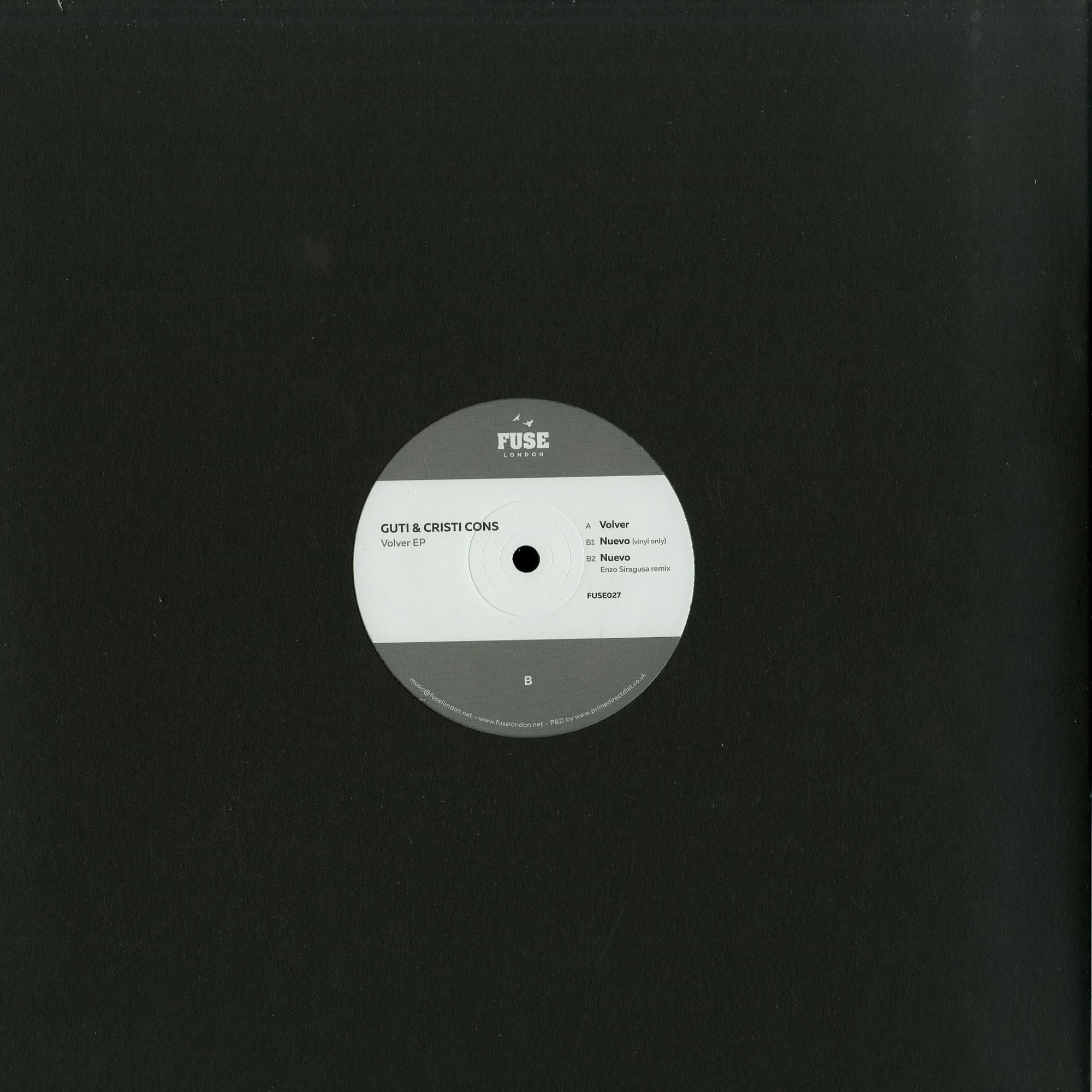 Guti & Cristi Cons - VOLVER EP