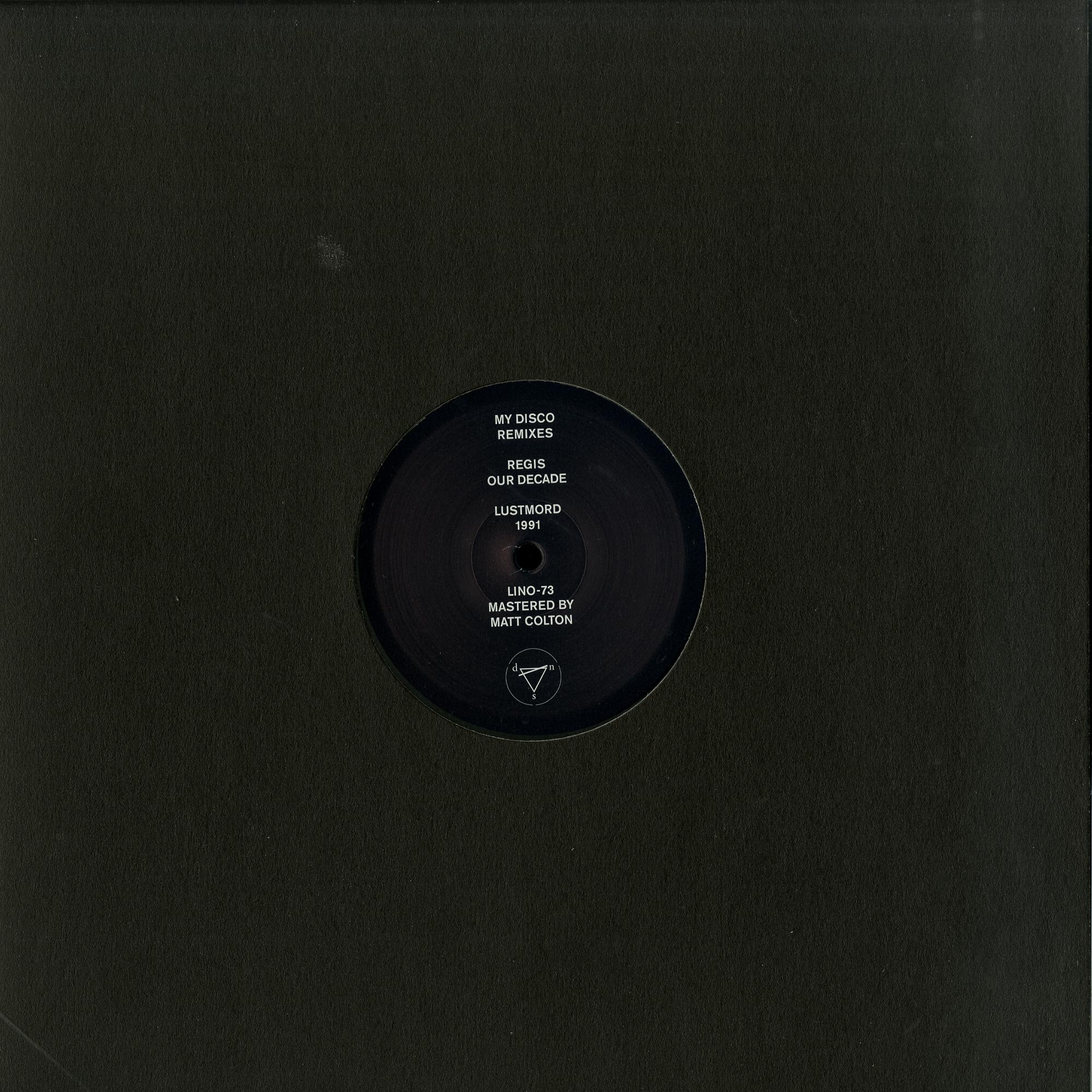 My Disco, Regis, Lustmord - SEVERE REMIXES