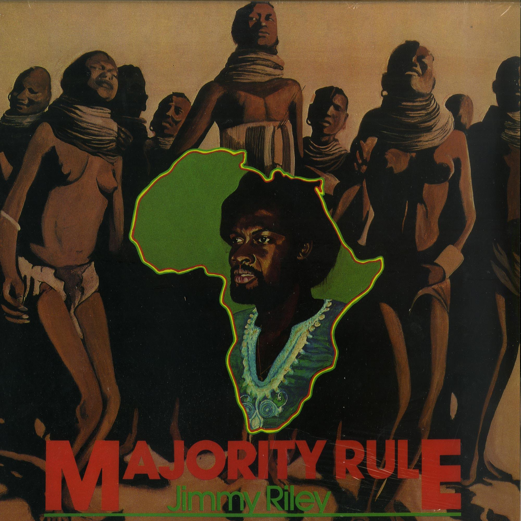 Jimmy Riley - MAJORITY RULE