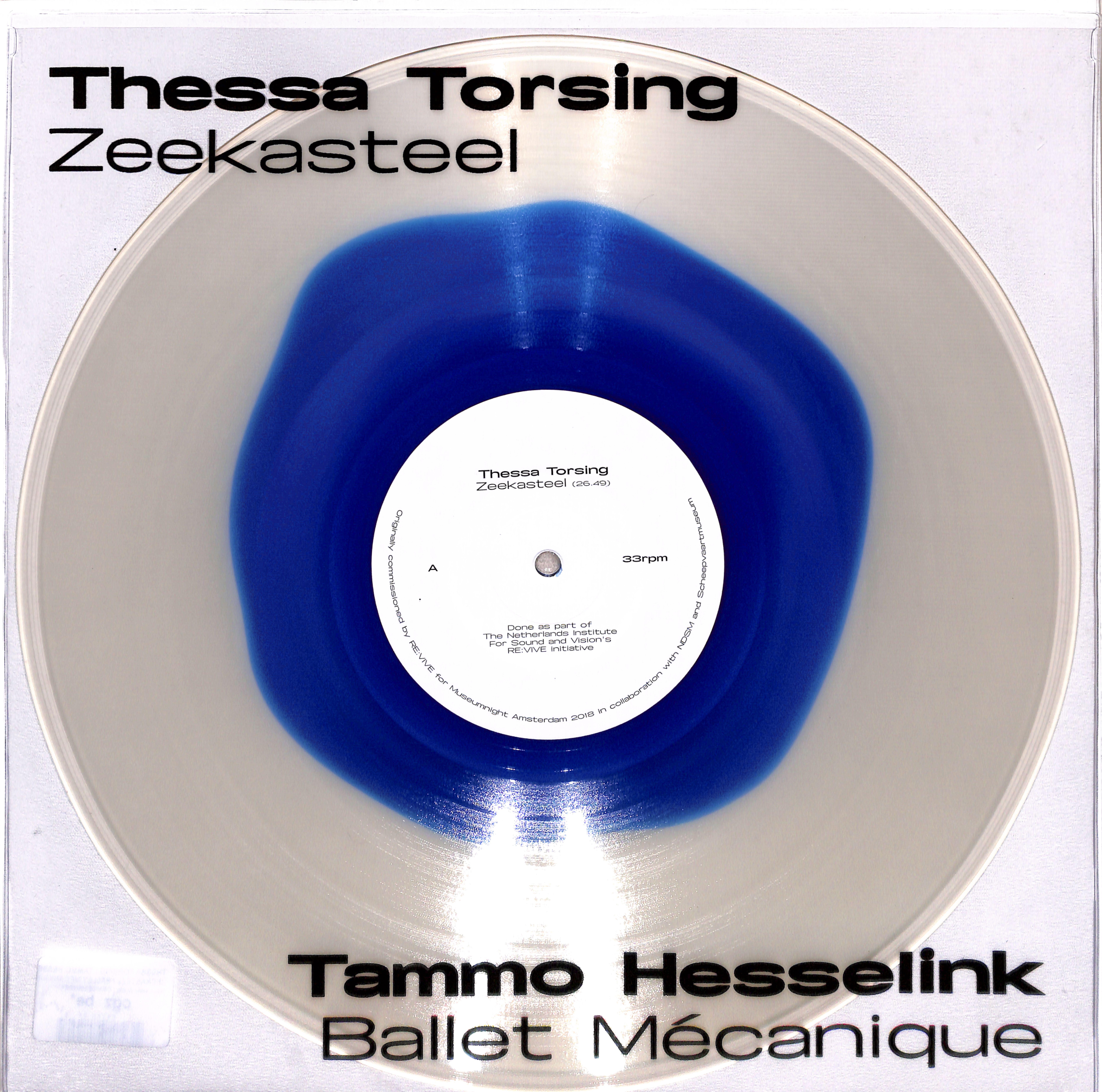 Thessa Torsing / Tammo Hesselink - ZEEKASTEEL / BALLET MECANIQUE