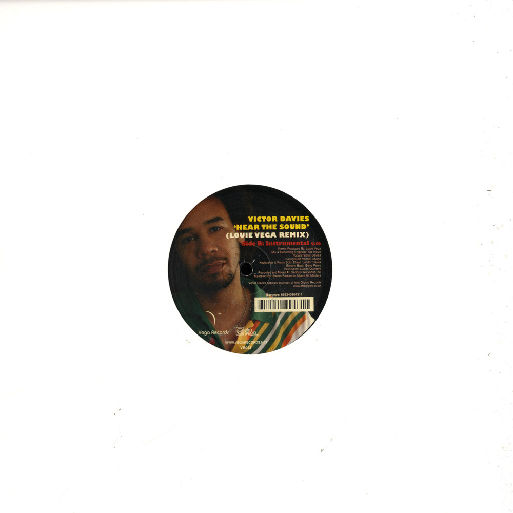 Victor Davies - HEAR THE SOUND / LOUIE VEGA REMIX