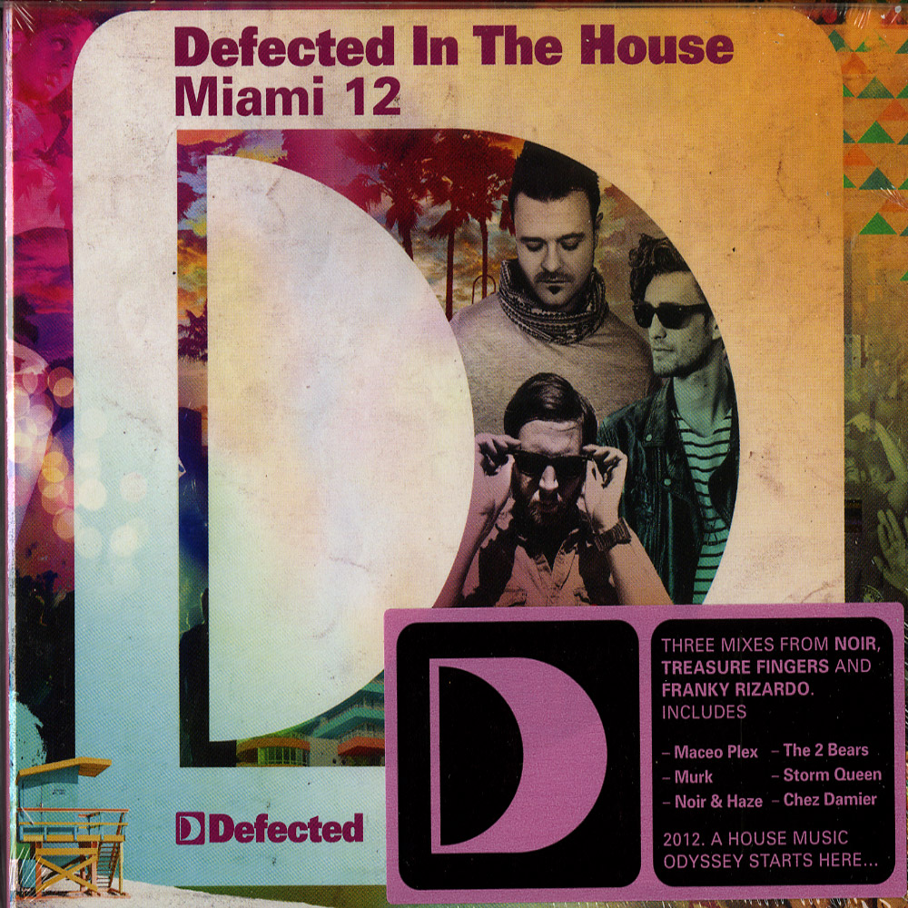 Various Artists - DEFECTED IN THE HOUSE - MIAMI 12