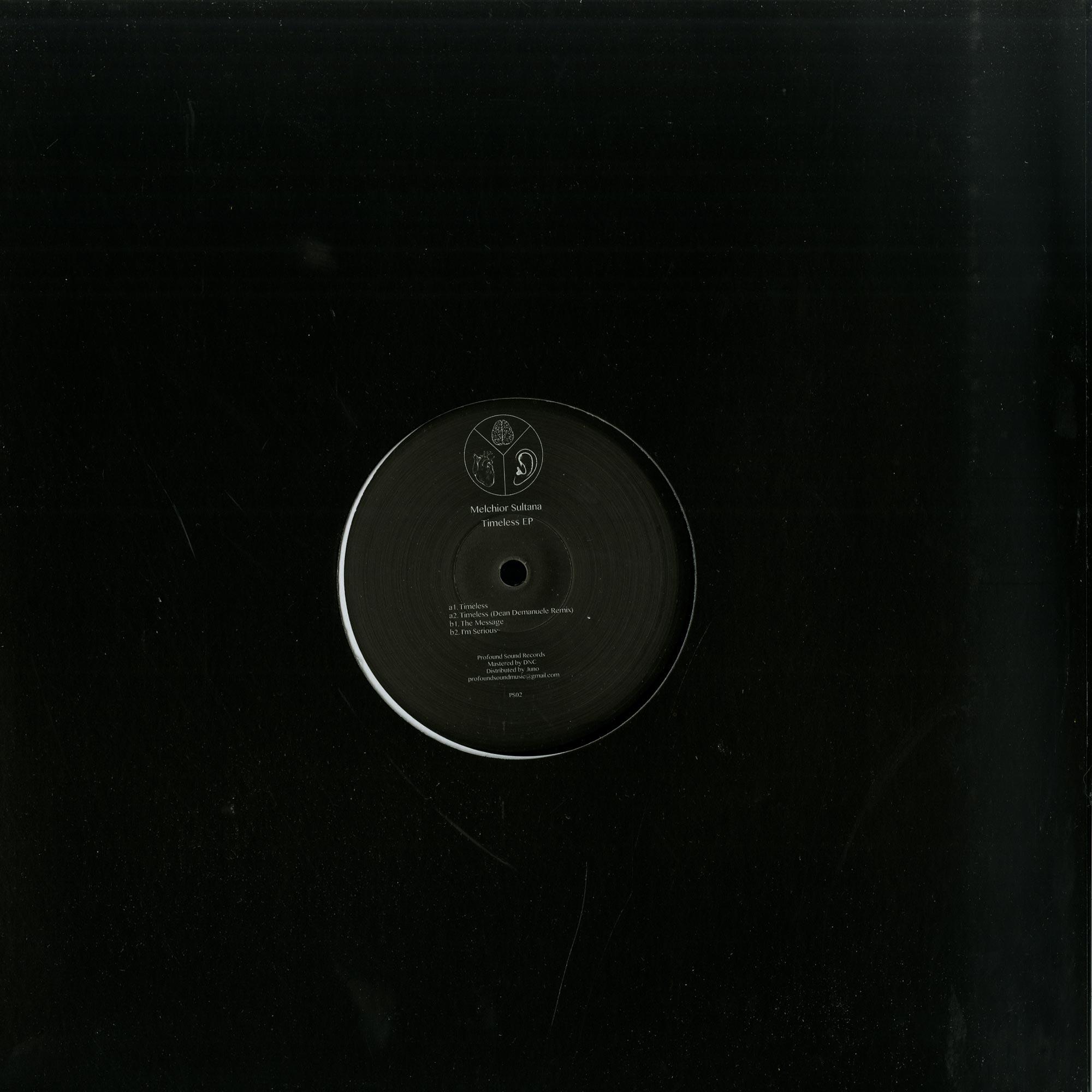Melchior Sultana - TIMELESS EP