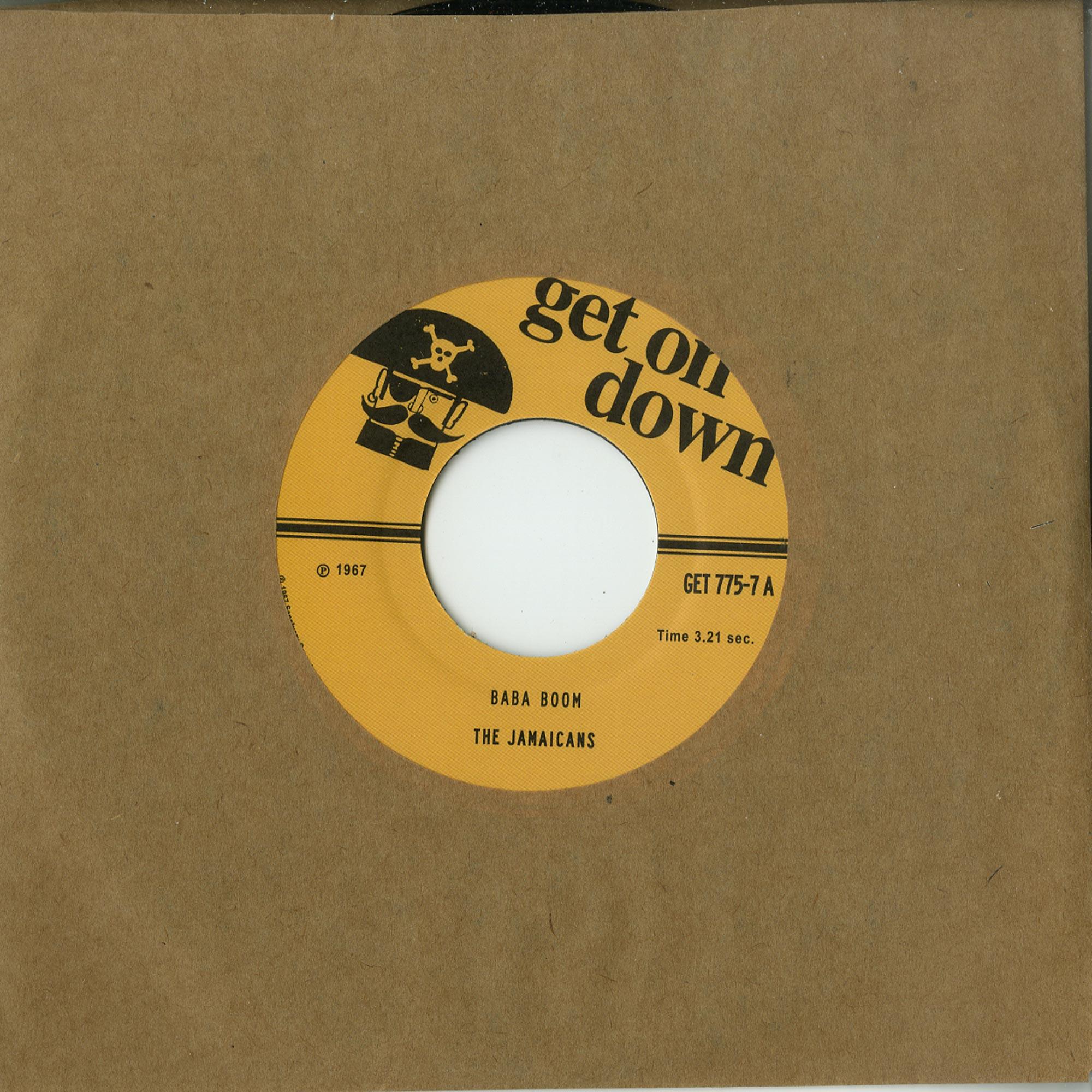 The Jamaicans - BA BA BOOM / TWILIGHT ZONE