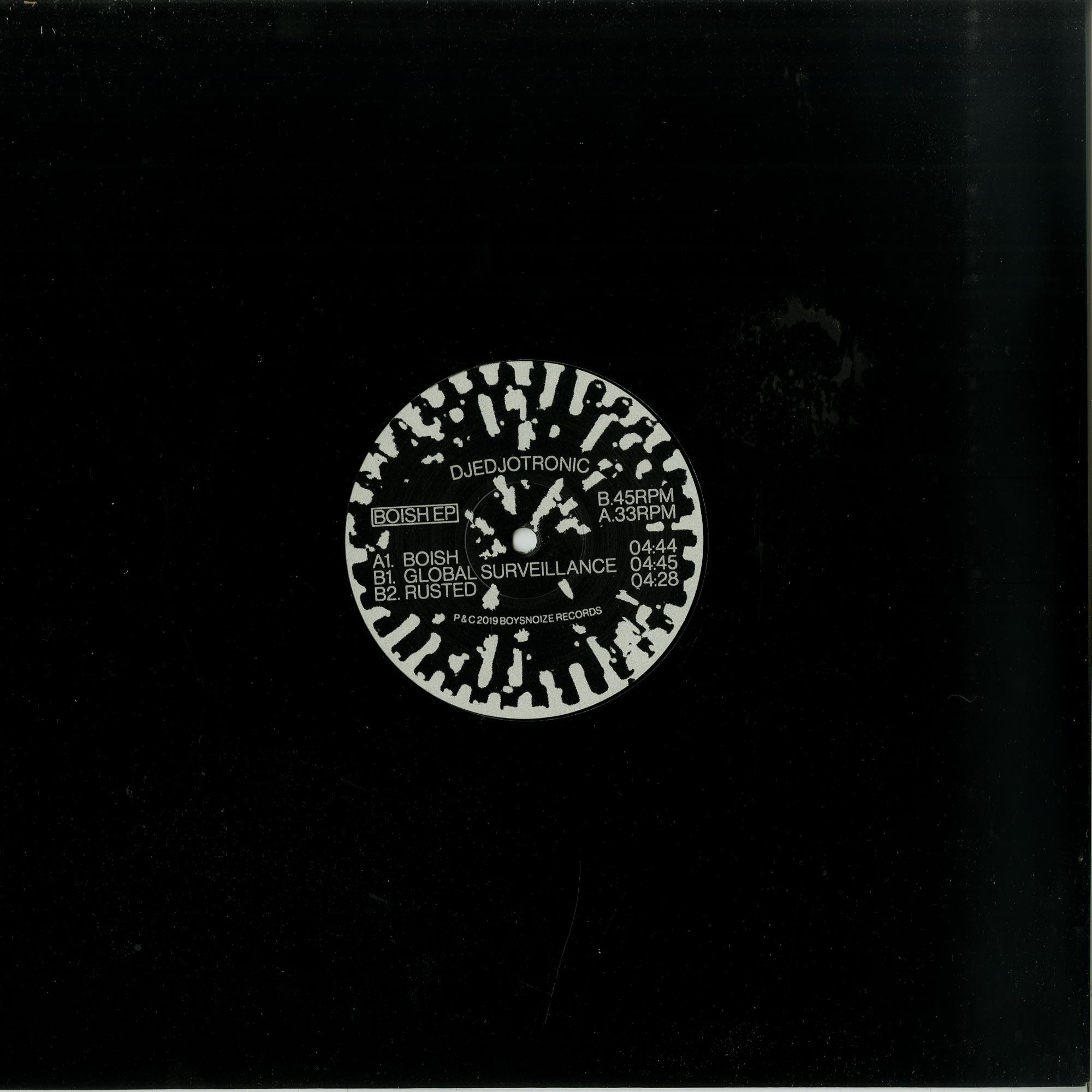 DJedjotronic - BOISH EP