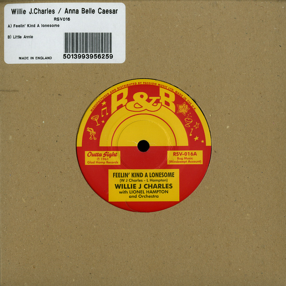 Willie J. Charles / Anne Belle Caesar - FEELIN KIND A LONESOME / LITTLE ANNIE