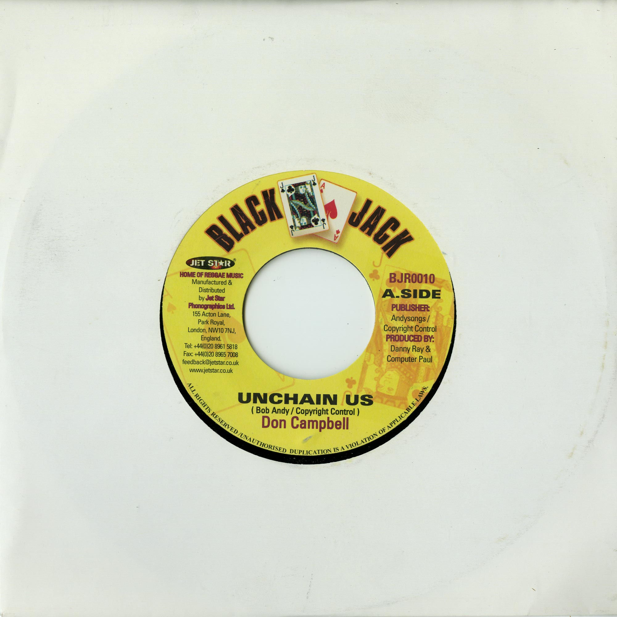 Don Campbell - UNCHAIN US