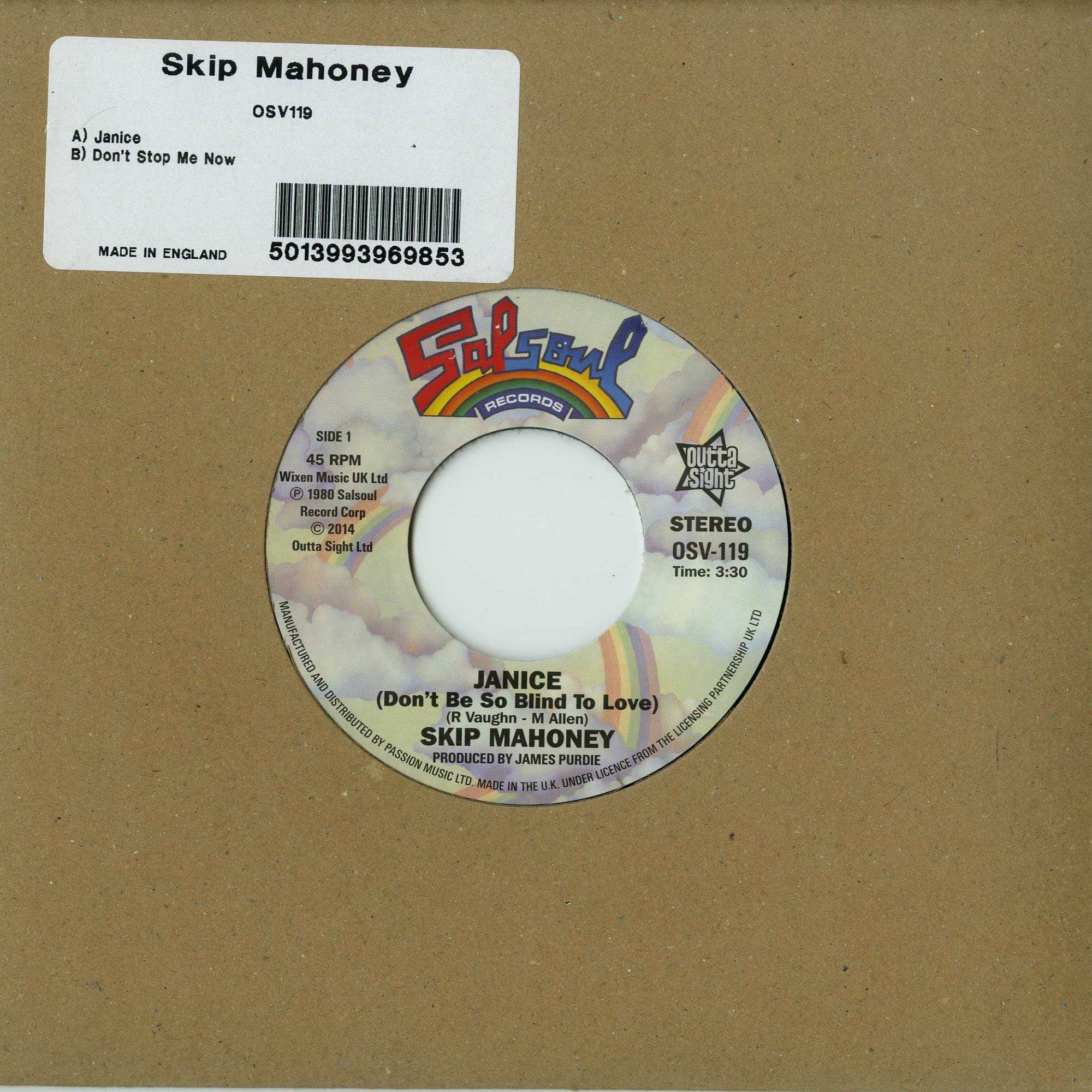Skip Mahoney - JANICE