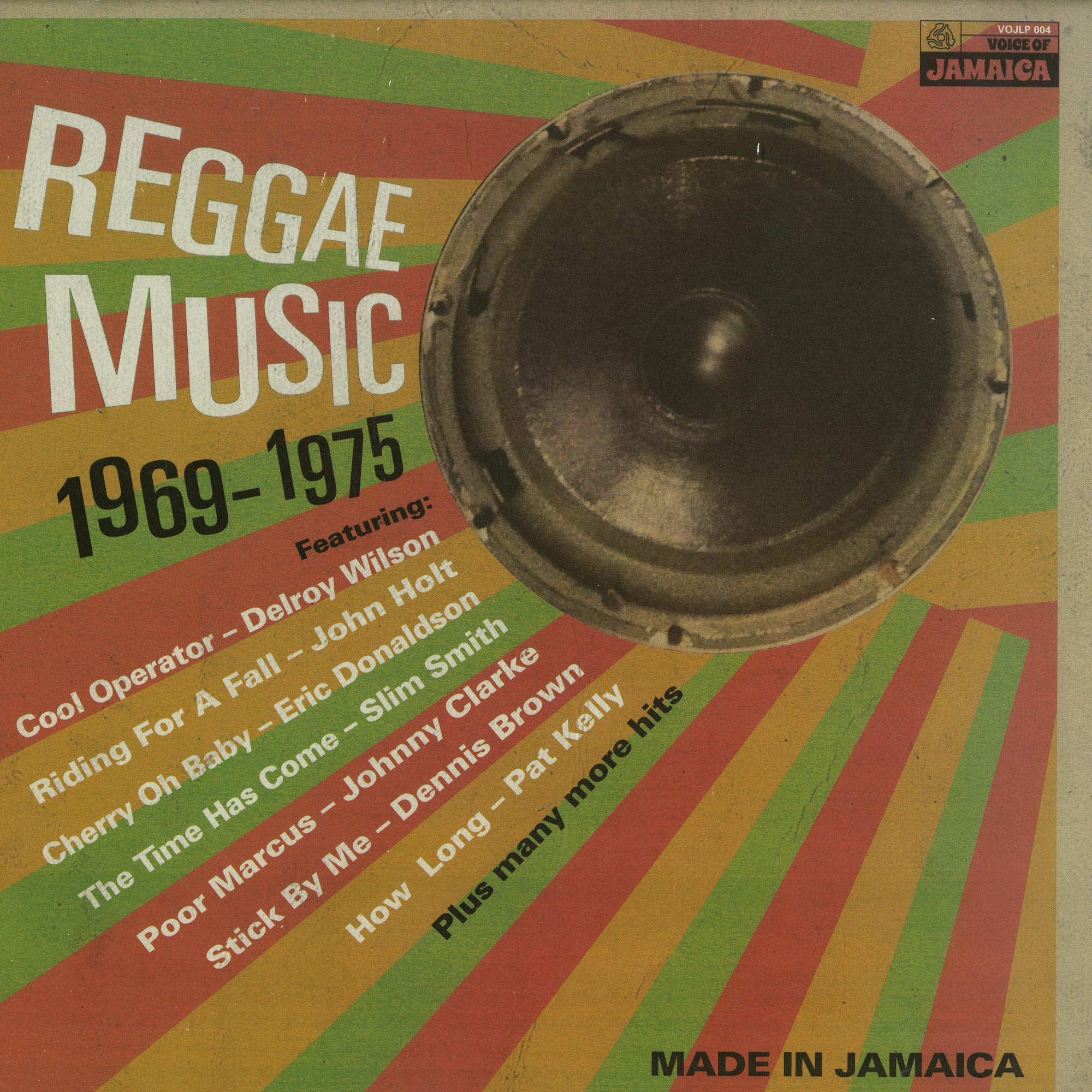 Various Artists - REGGAE MUSIC 1968-1975