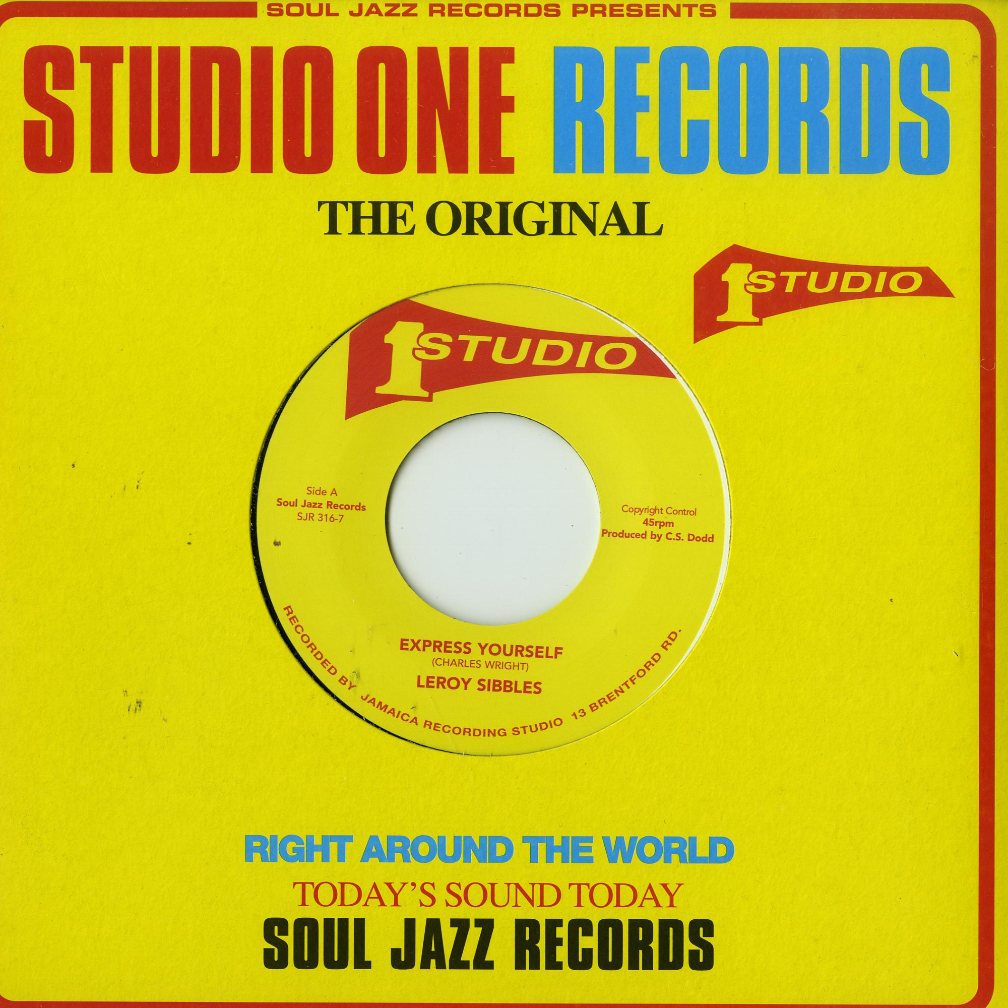 Leroy Sibbles / Norma Fraser - EXPRESS YOURSELF / RESPECT
