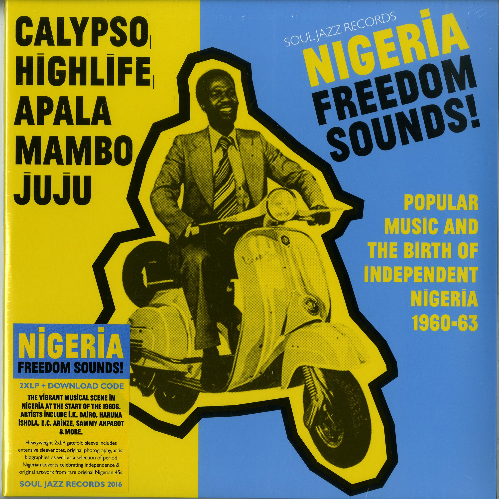 Various Artists - NIGERIA FREEDOM SOUNDS