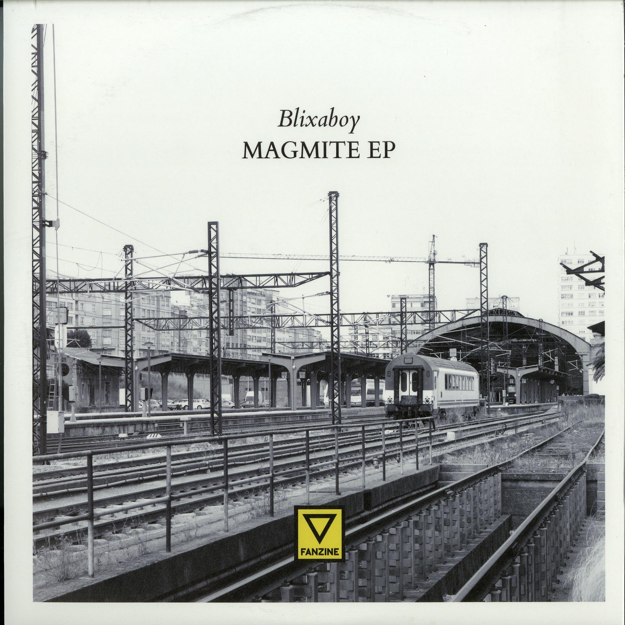 Blixaboy - MAGMITE EP