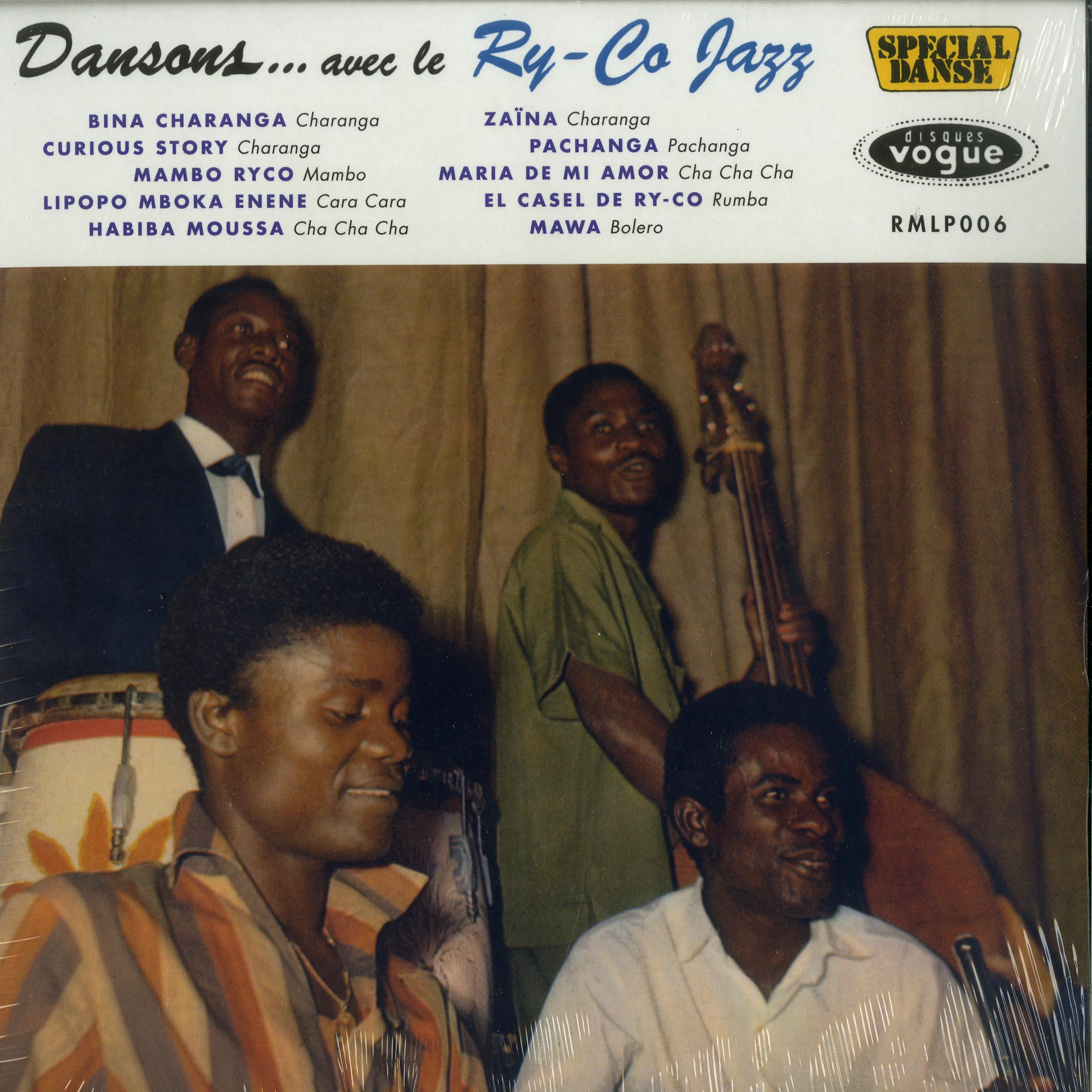 Ry-co Jazz - DANSONS AVEC LE RY-CO JAZZ