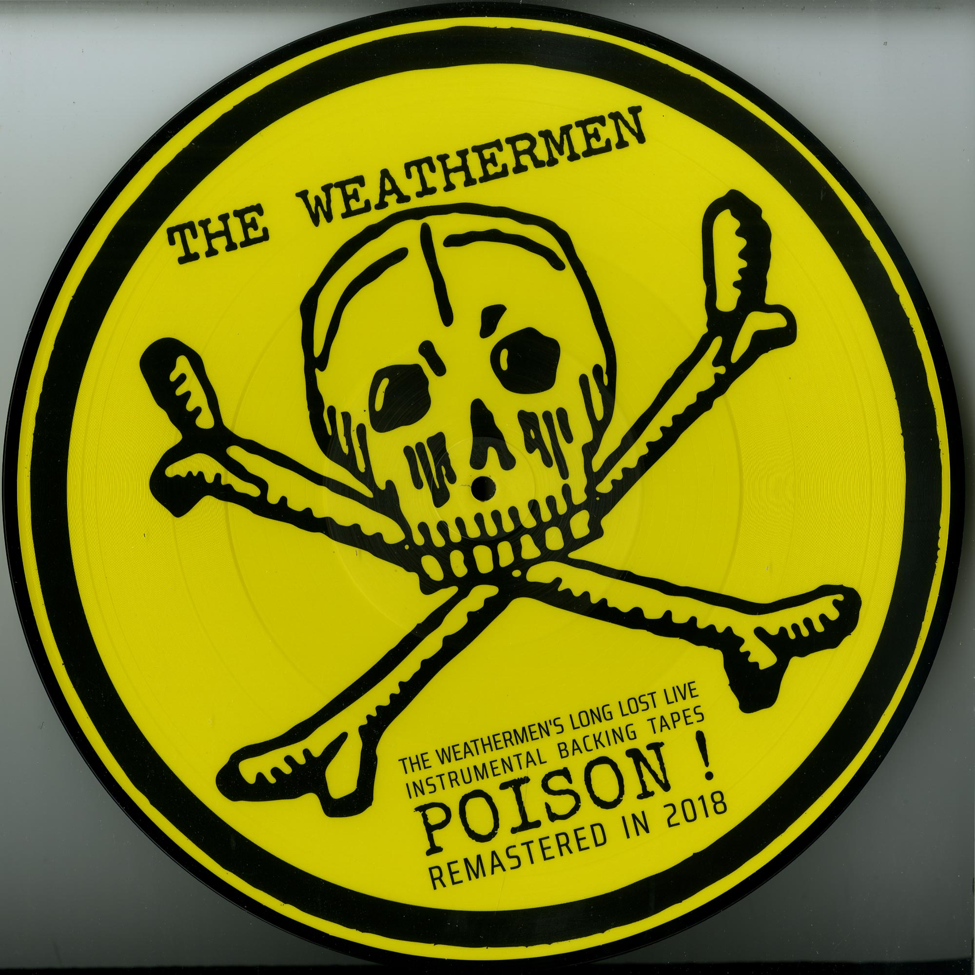 The Weathermen - LONG LOST LIVE INSTRUMENTAL BACKING TAPES: POISON!