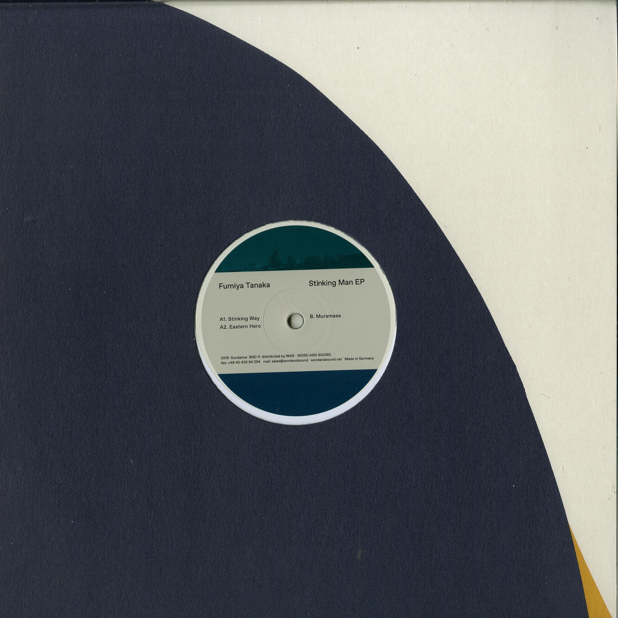 Fumiya Tanaka - STINKING MAN EP