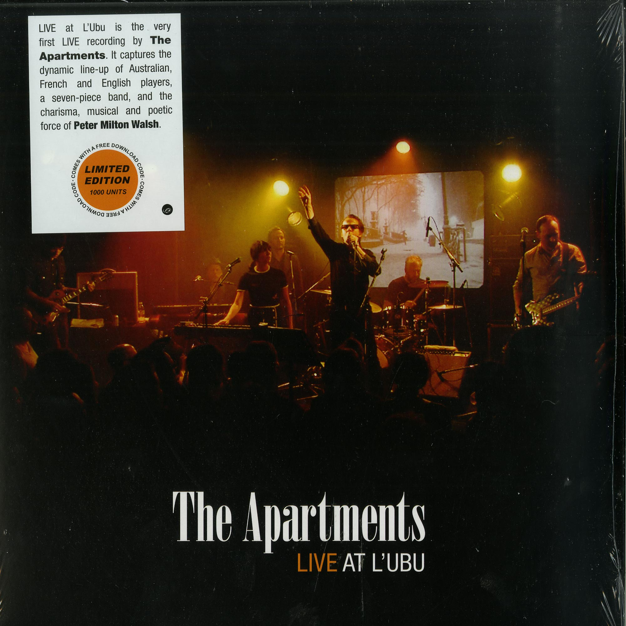 The Apartments - LIVE AT LUBU