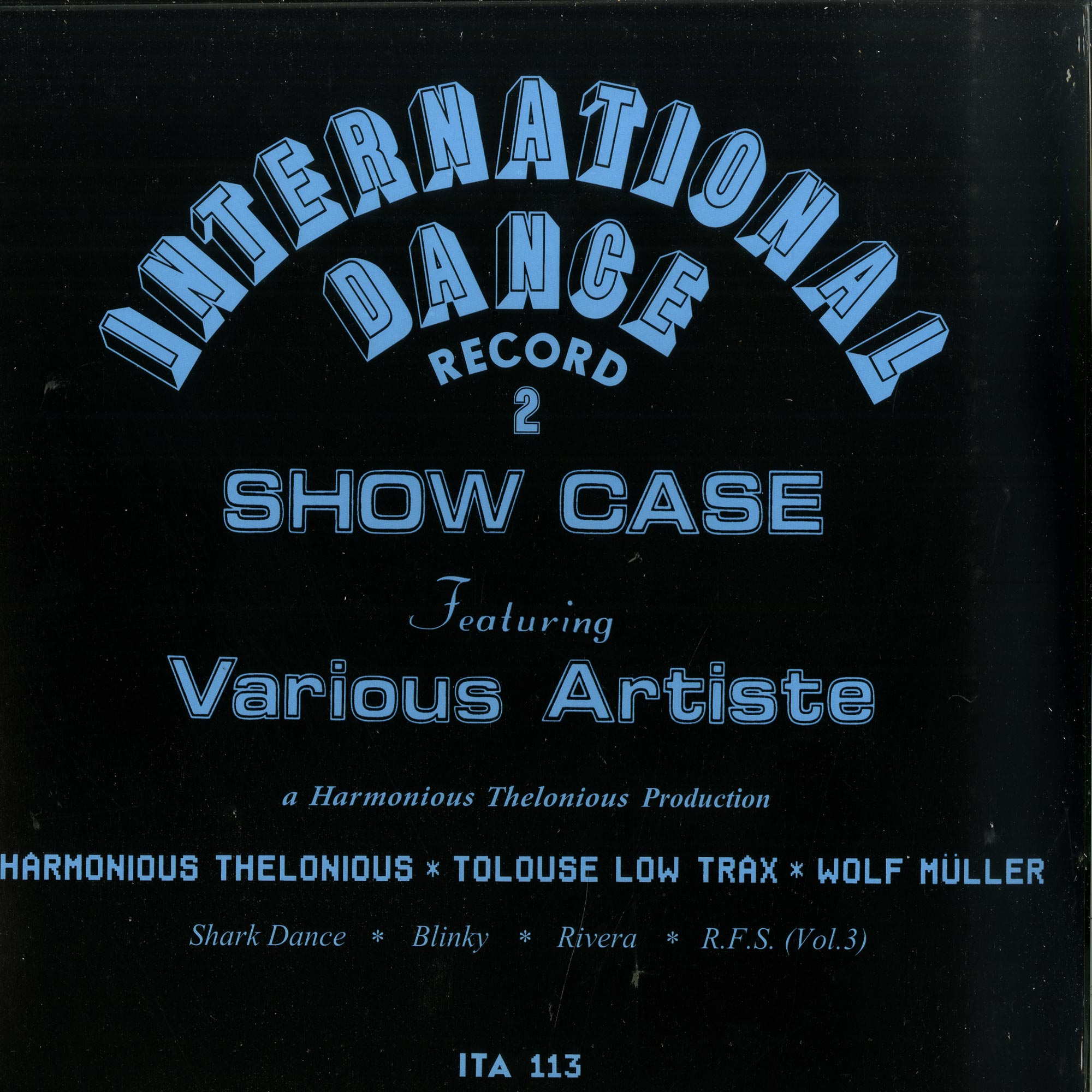 Harmonious Thelonious - INTERNATIONAL DANCE RECORD 2