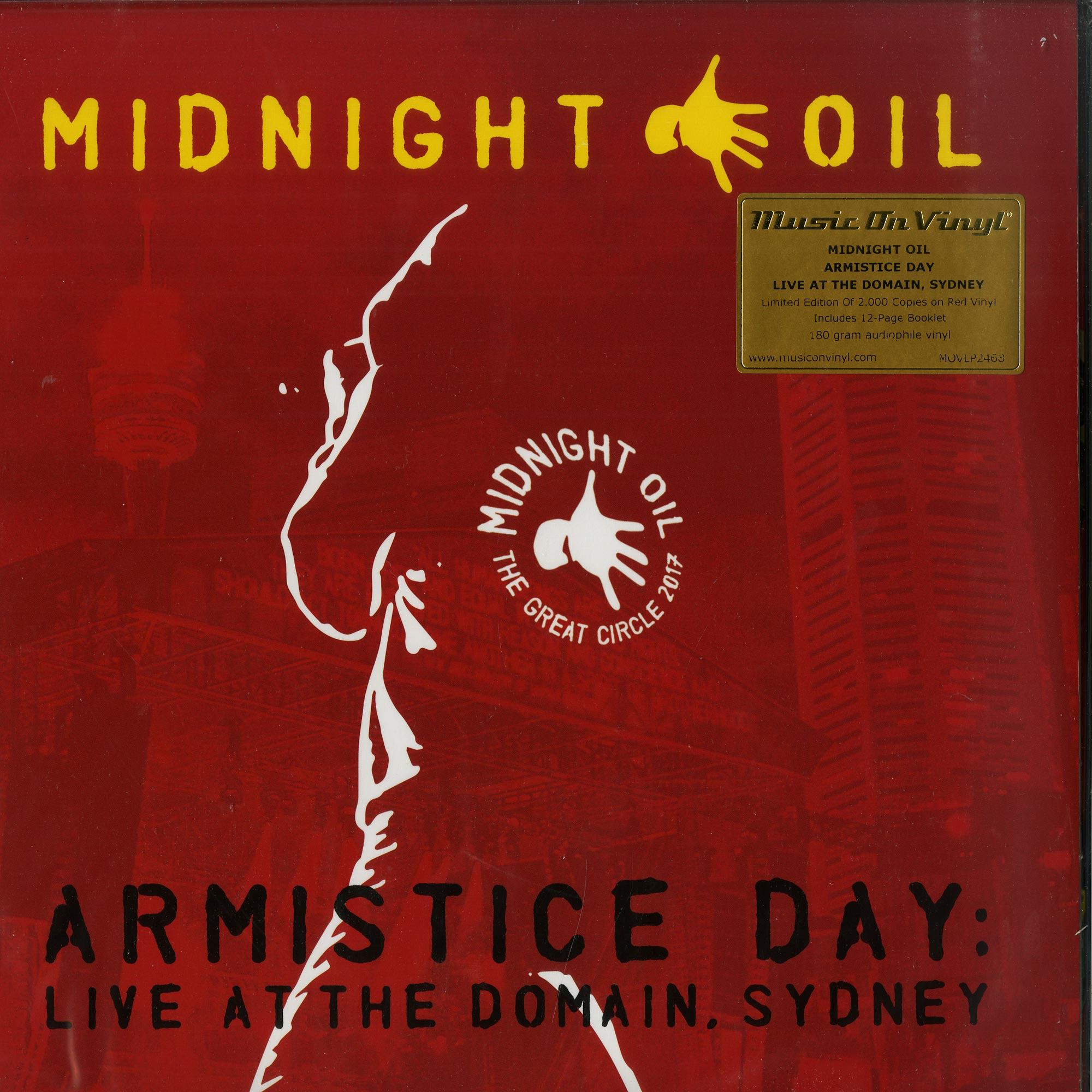 Midnight Oil - ARMISTICE DAY: LIVE AT THE DOMAIN