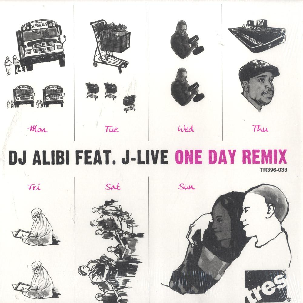 DJ Alibi feat. J-live - ONE DAY REMIX