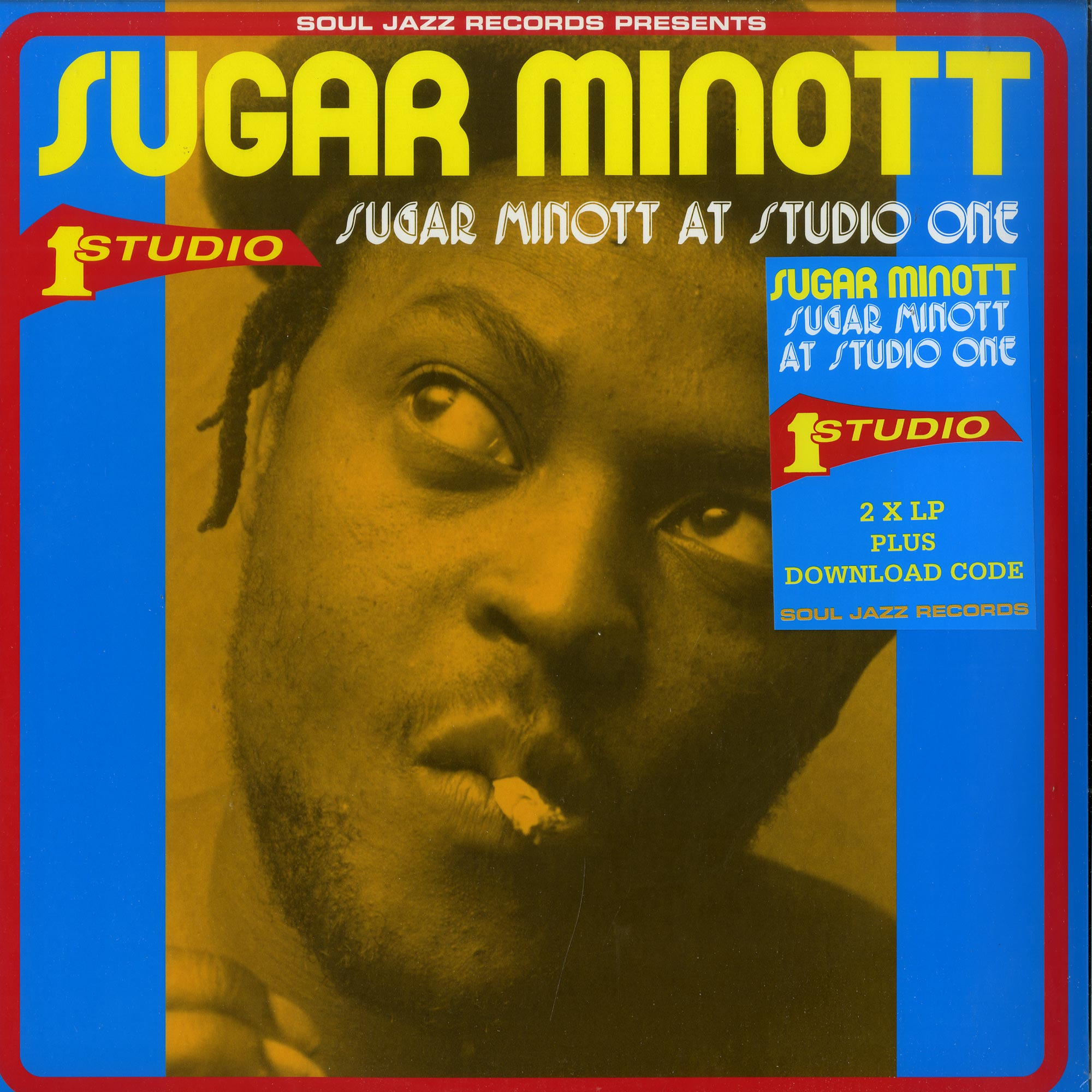 Sugar Minott - SUGAR MINOTT AT STUDIO ONE