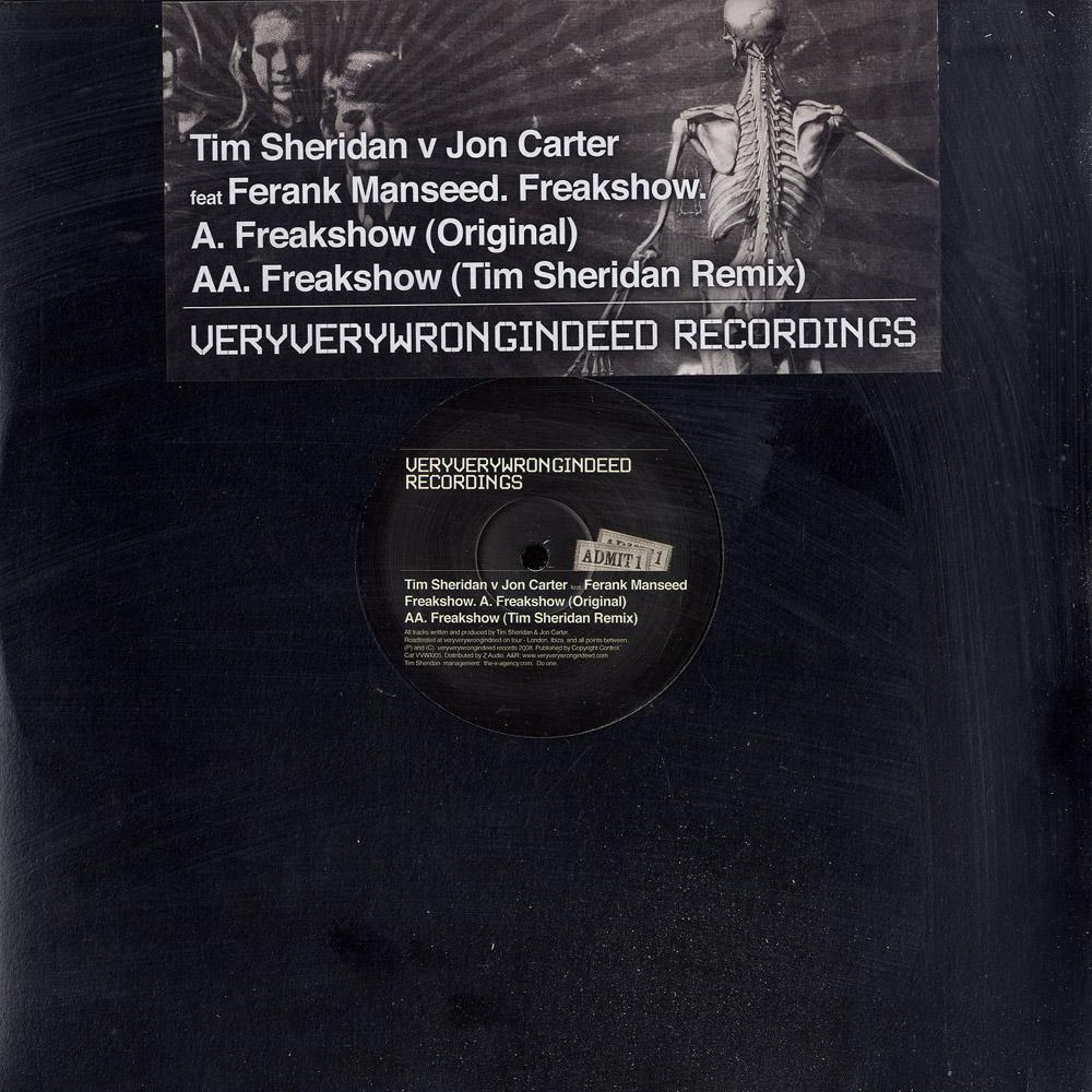 Tim Sheridan vs Jon Carter - FREAKSHOW EP