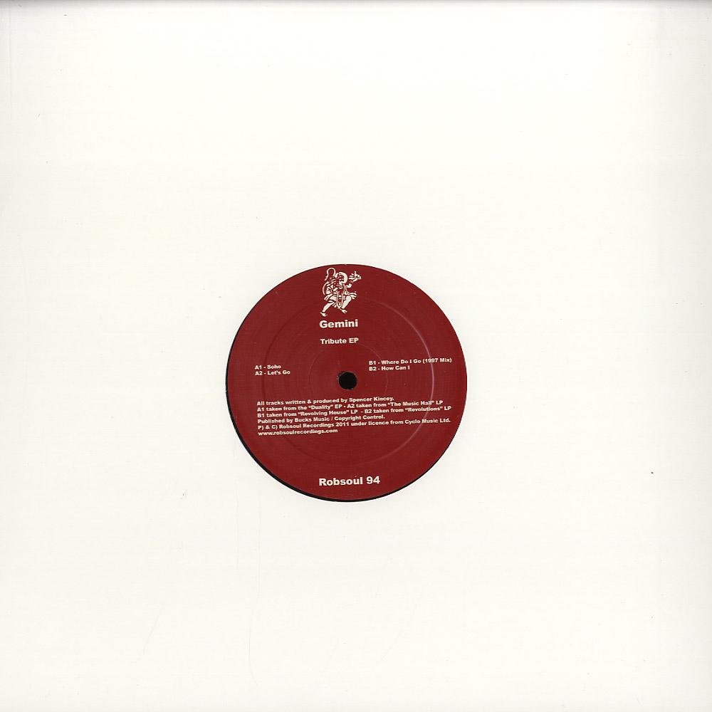 Gemini - TRIBUTE EP