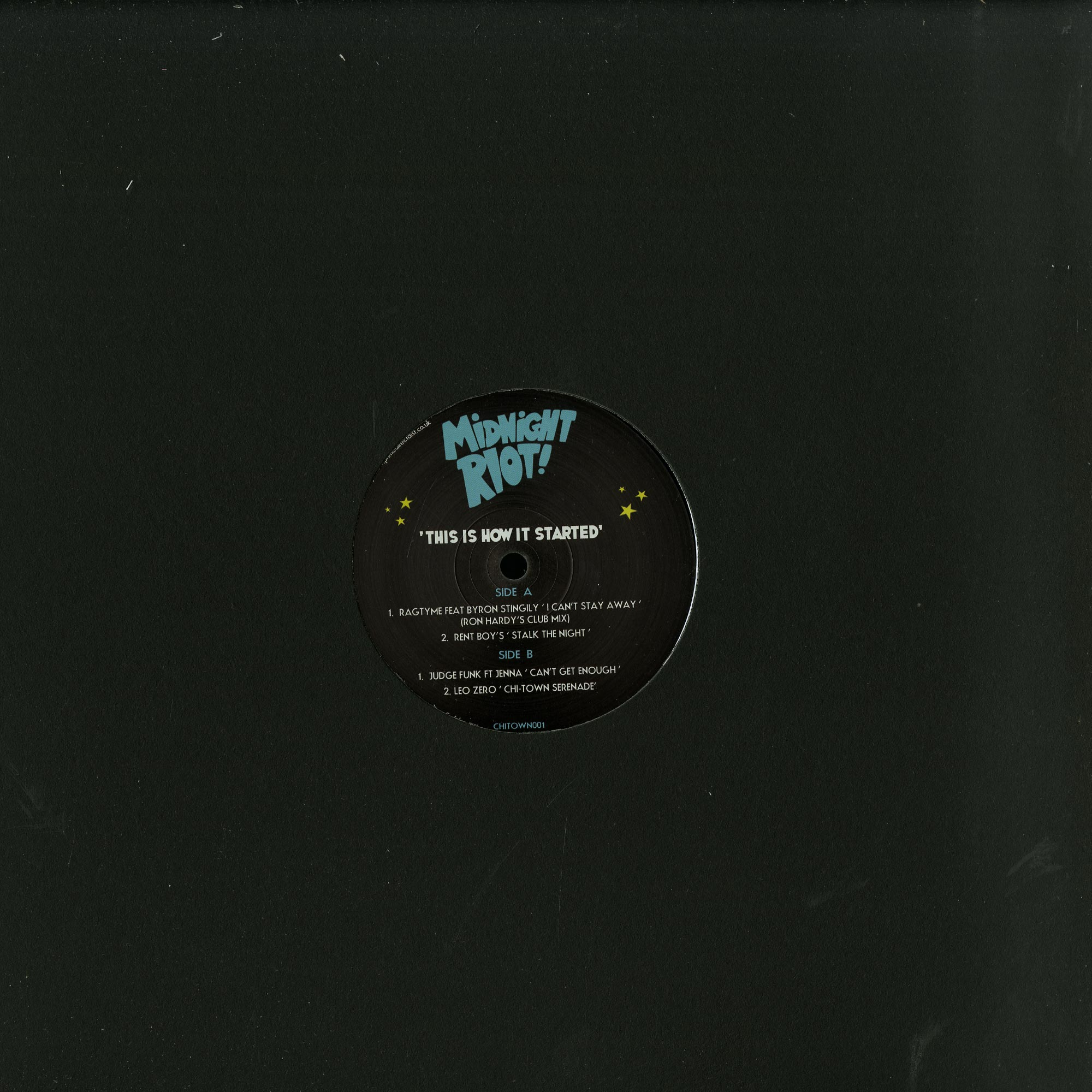 Various Artists - THIS IS HOW IT STARTED VOL 1