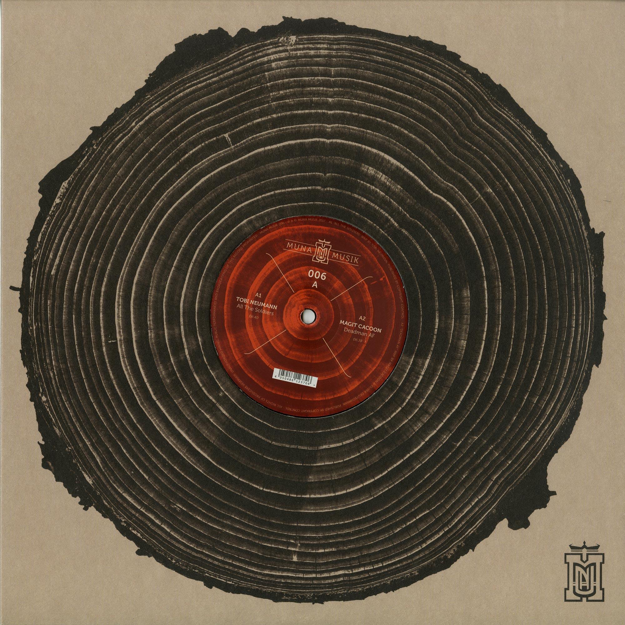 Tobi Neumann / Magit Cacoon / Steve Bug / Jacob Korn - MUNA MUSIK 006