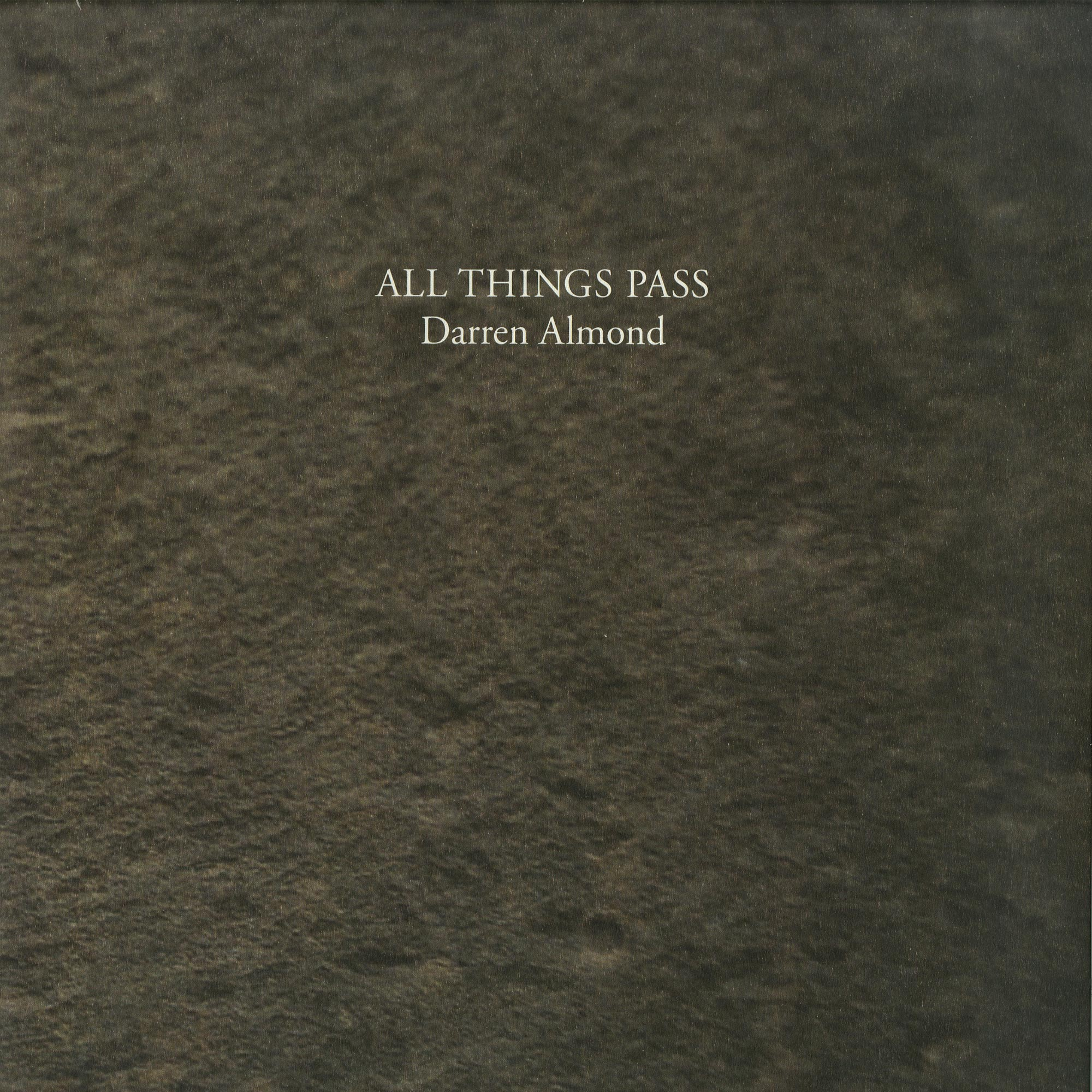 Darren Almond - ALL THINGS PAAA