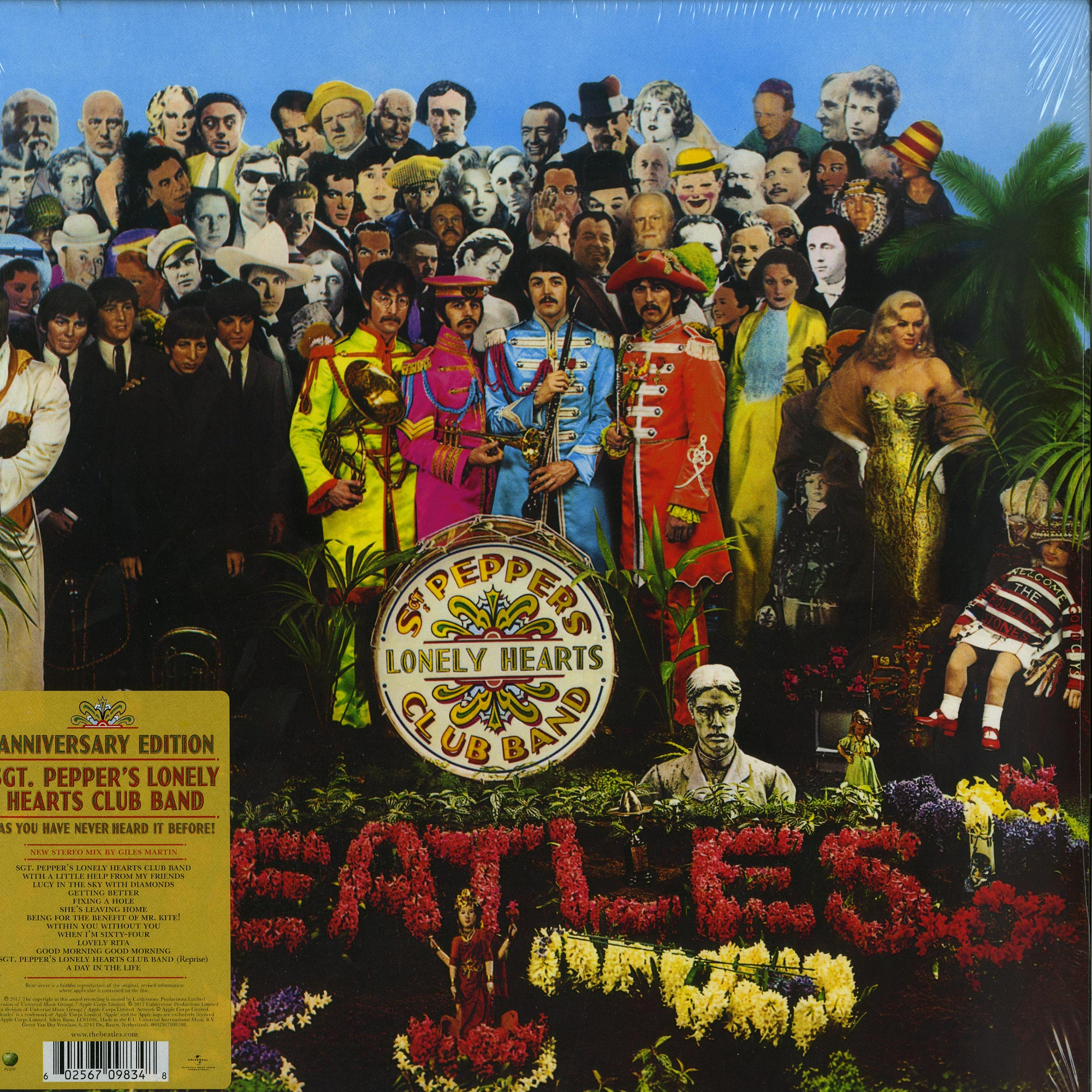 The Beatles - SGT. PEPPERS LONELY HEARTS CLUB BAND - ANNIVERSARY EDITION