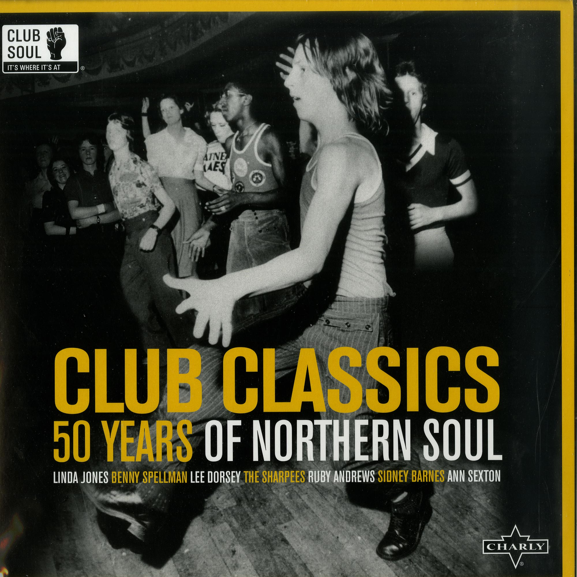 Various Artists - CLUB CLASSICS: 50 YEARS OF NORTHERN SOUL