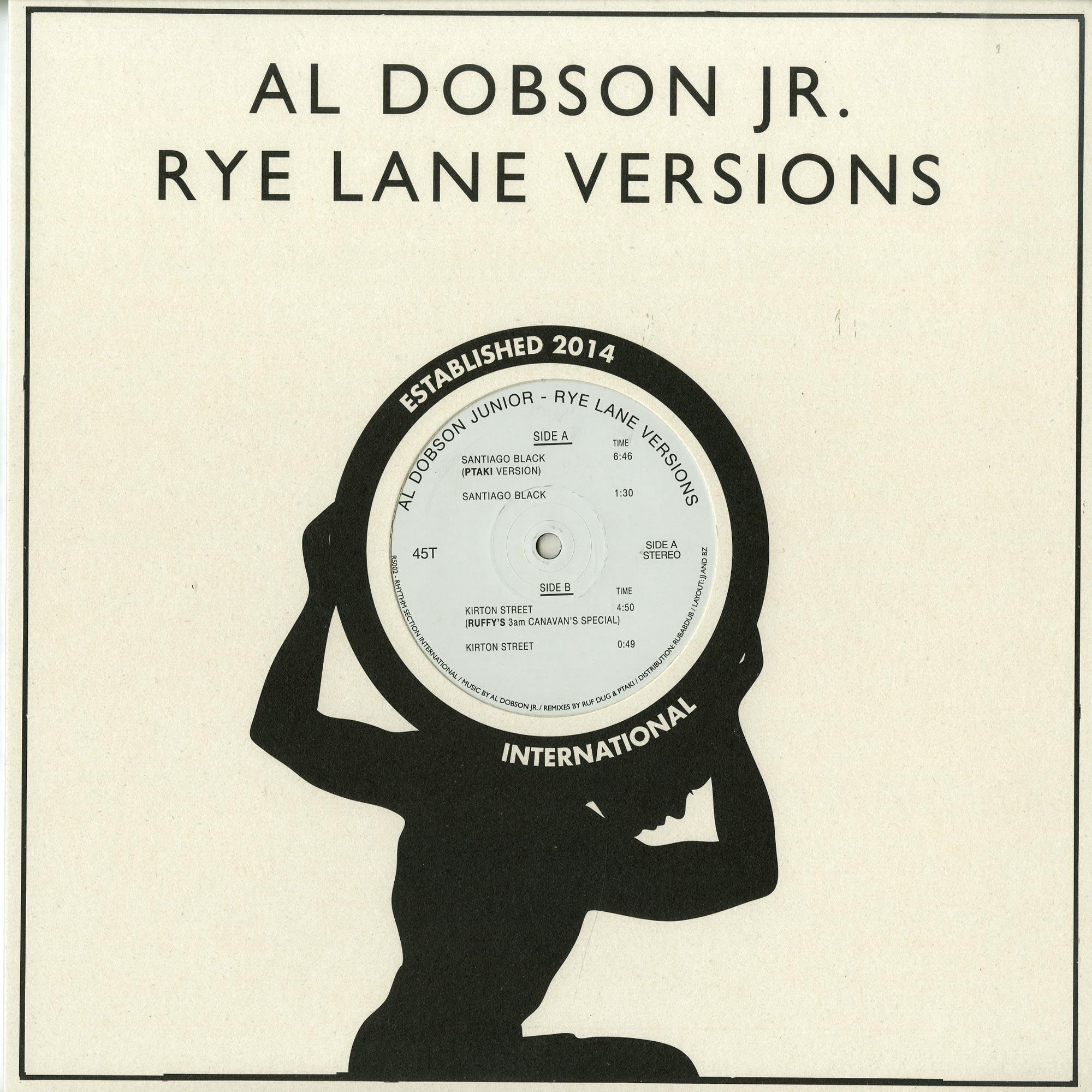 Al Dobson jr. - rye lane versions