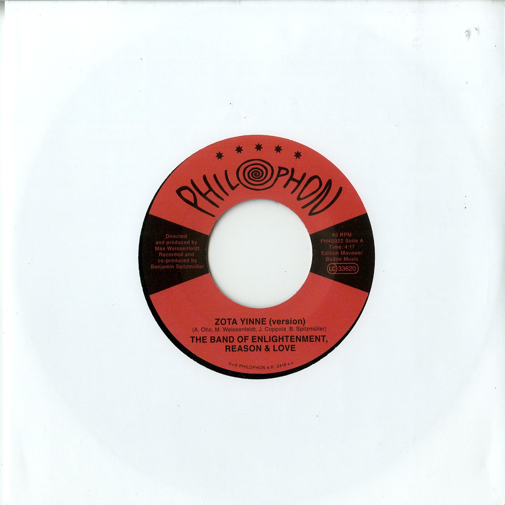 The Band Of Enlightenment Reason & Love - ZOTA YINNE