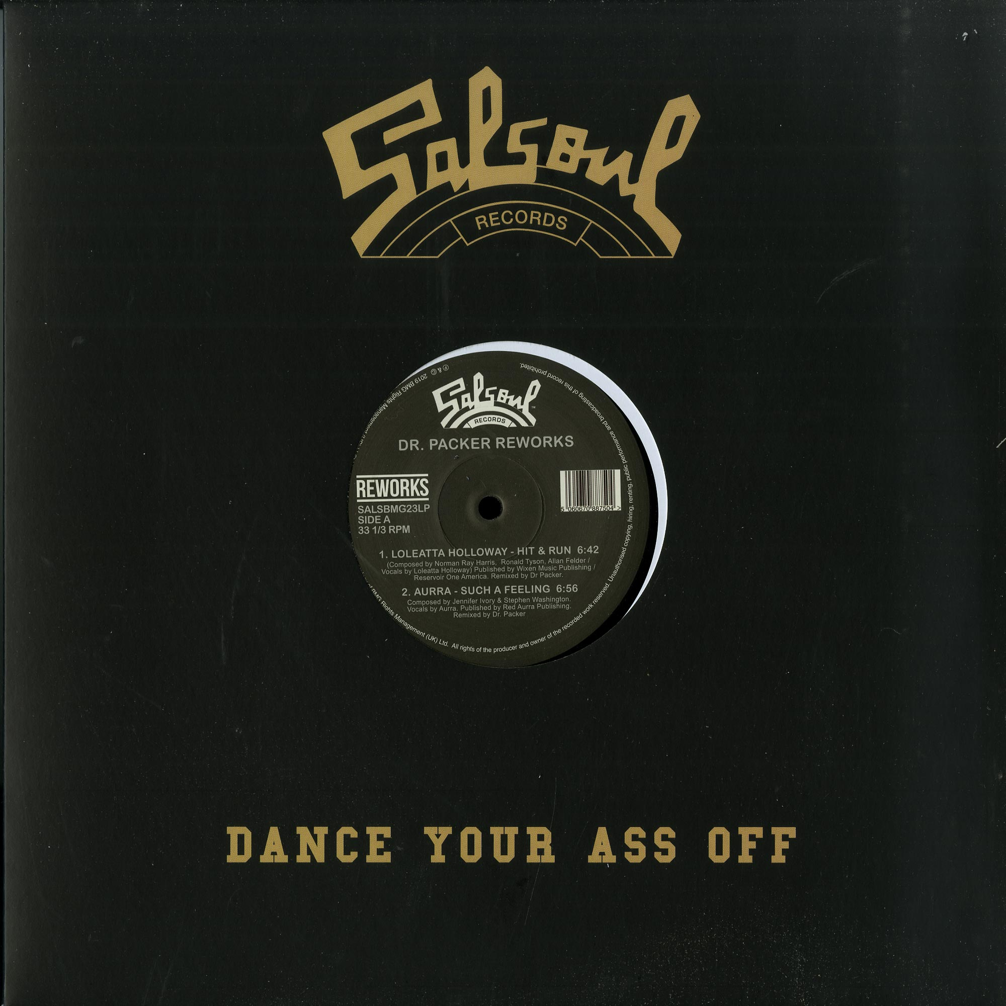Loleatta Holloway / Aurra / The Salsoul Orchestra / The Jammers - DR. PACKER REWORKS