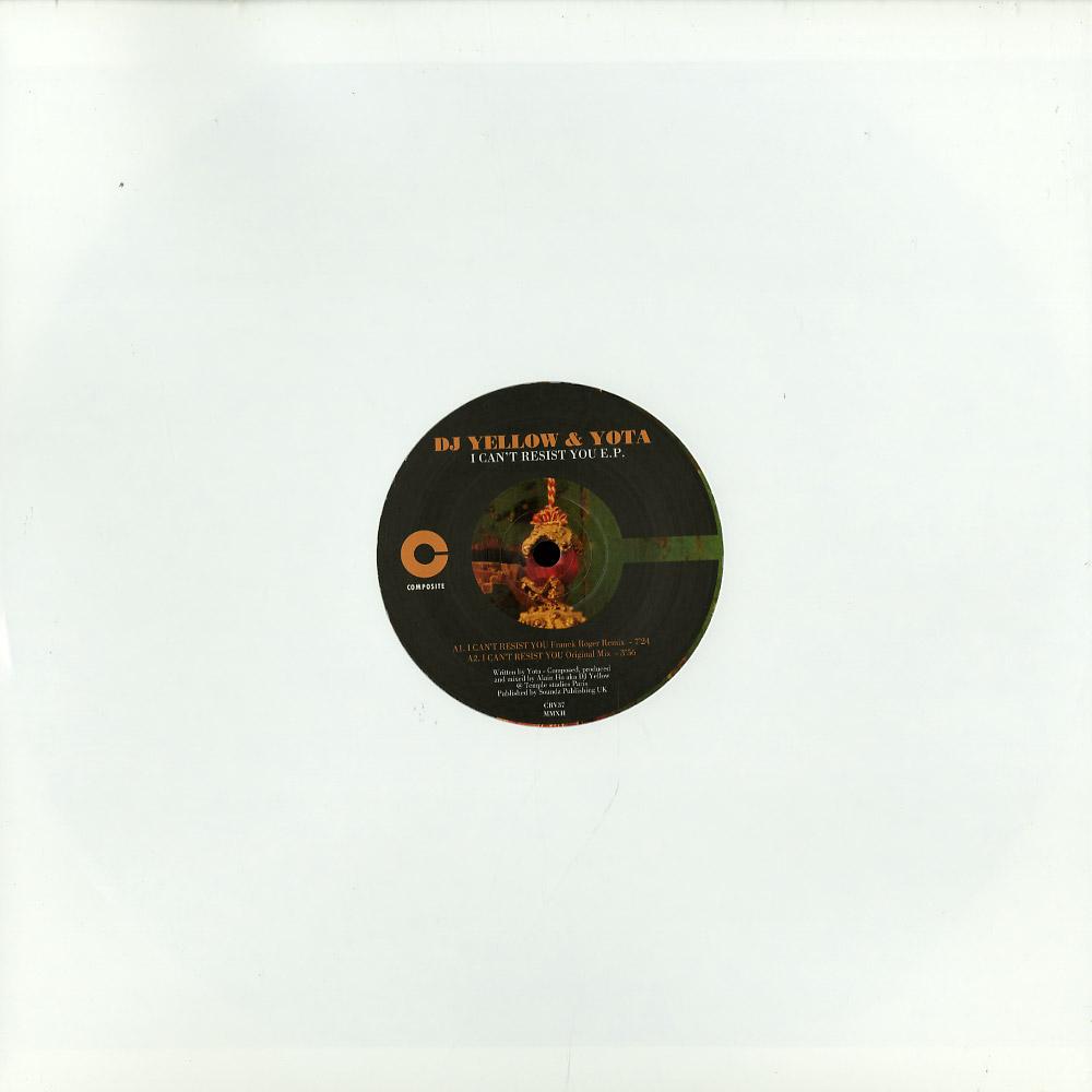 DJ Yellow & Yota - I CANT RESIST YOU EP