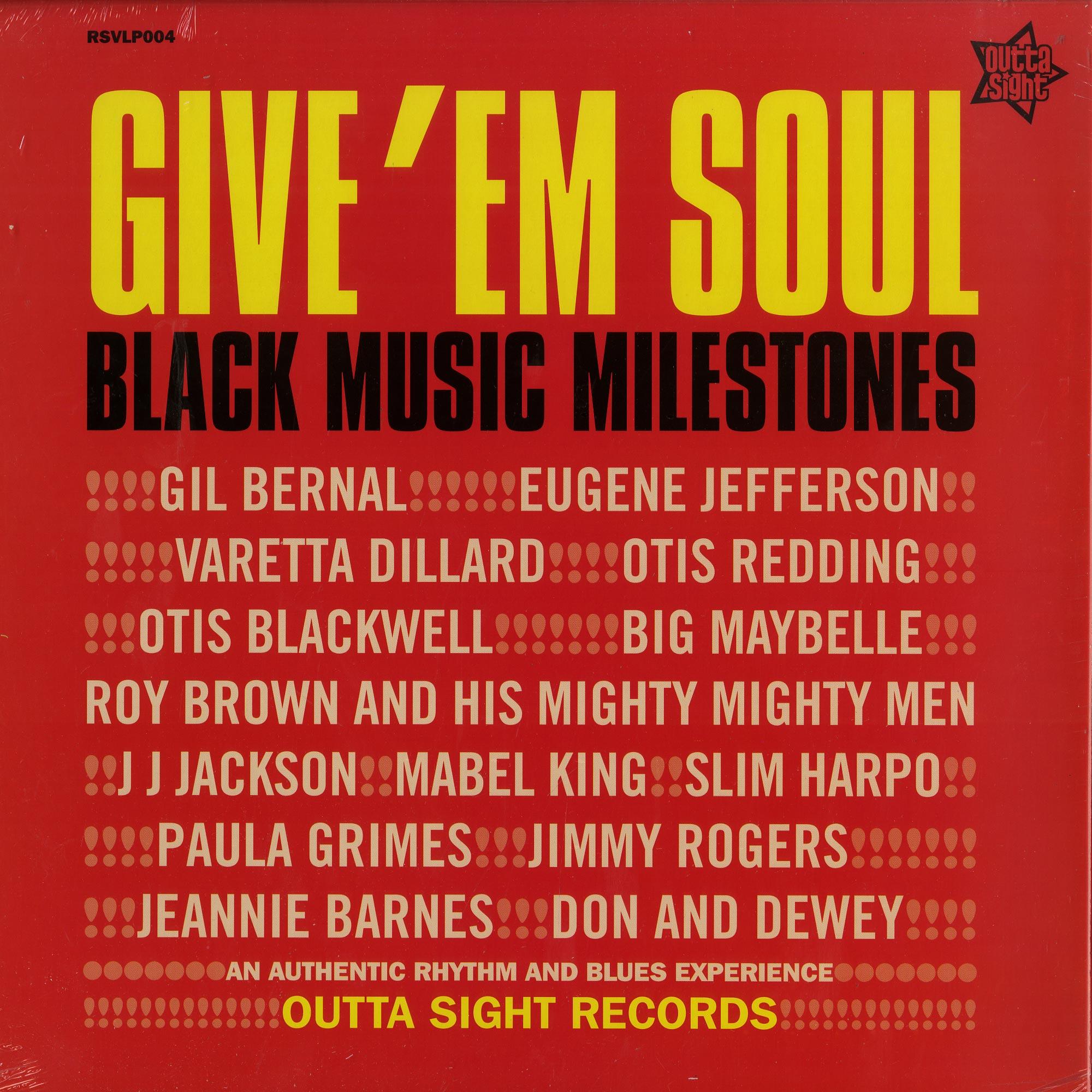 Various Artists - GIVE EM SOUL VOL.1