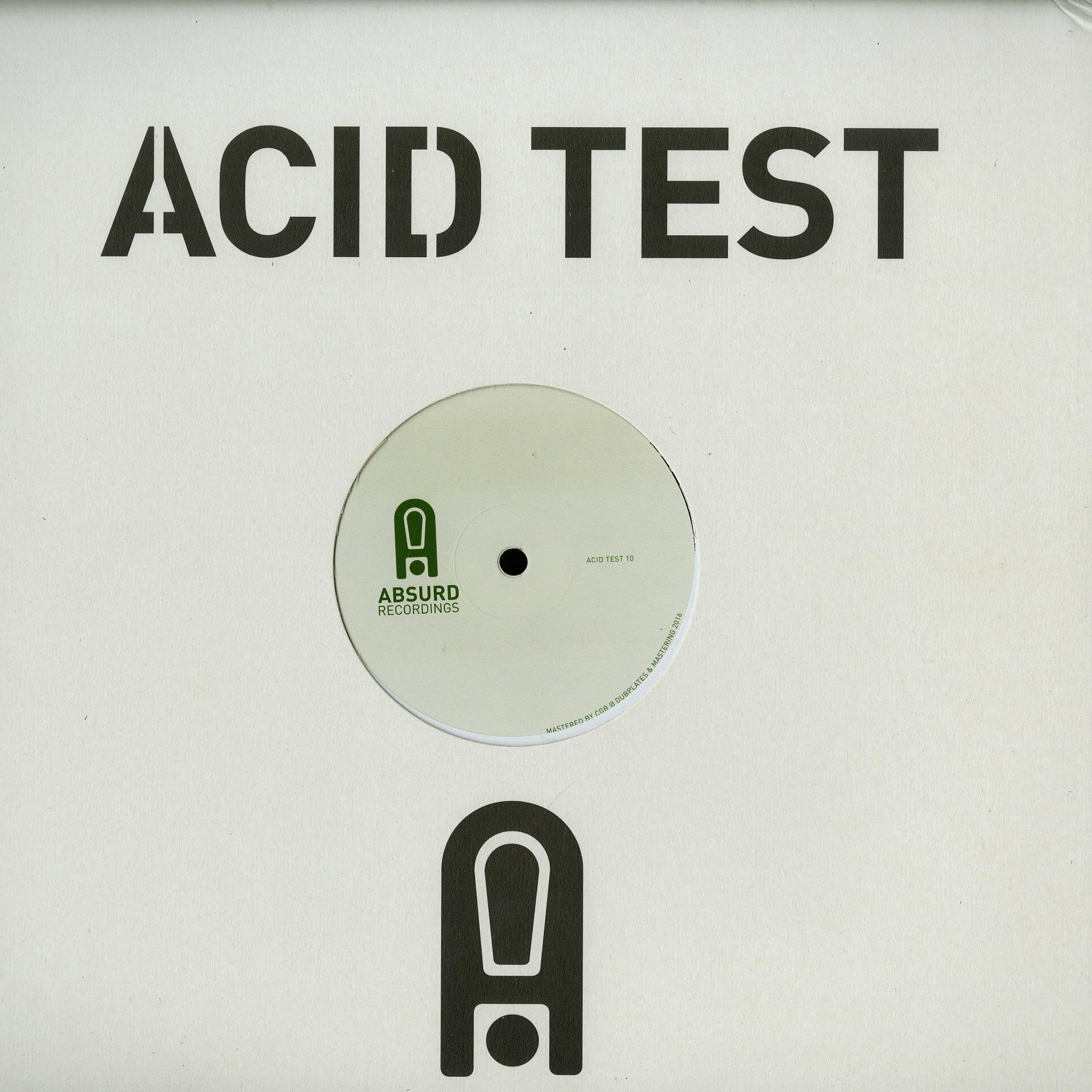 John Tejada and Tin Man - ACID TEST 10