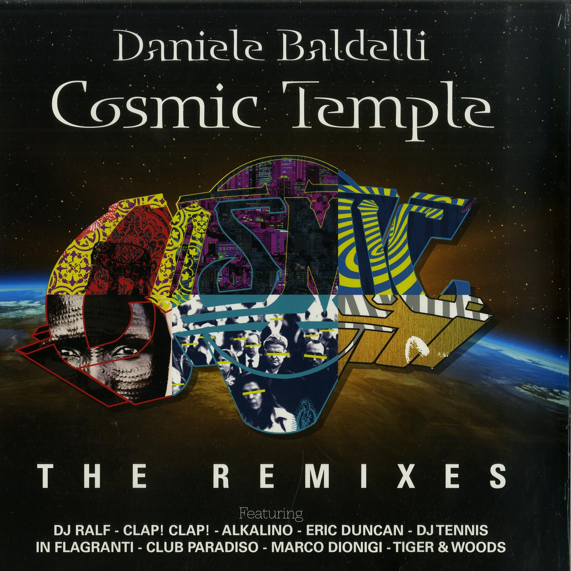 Daniele Baldelli - COSMIC TEMPLE - THE REMIXES