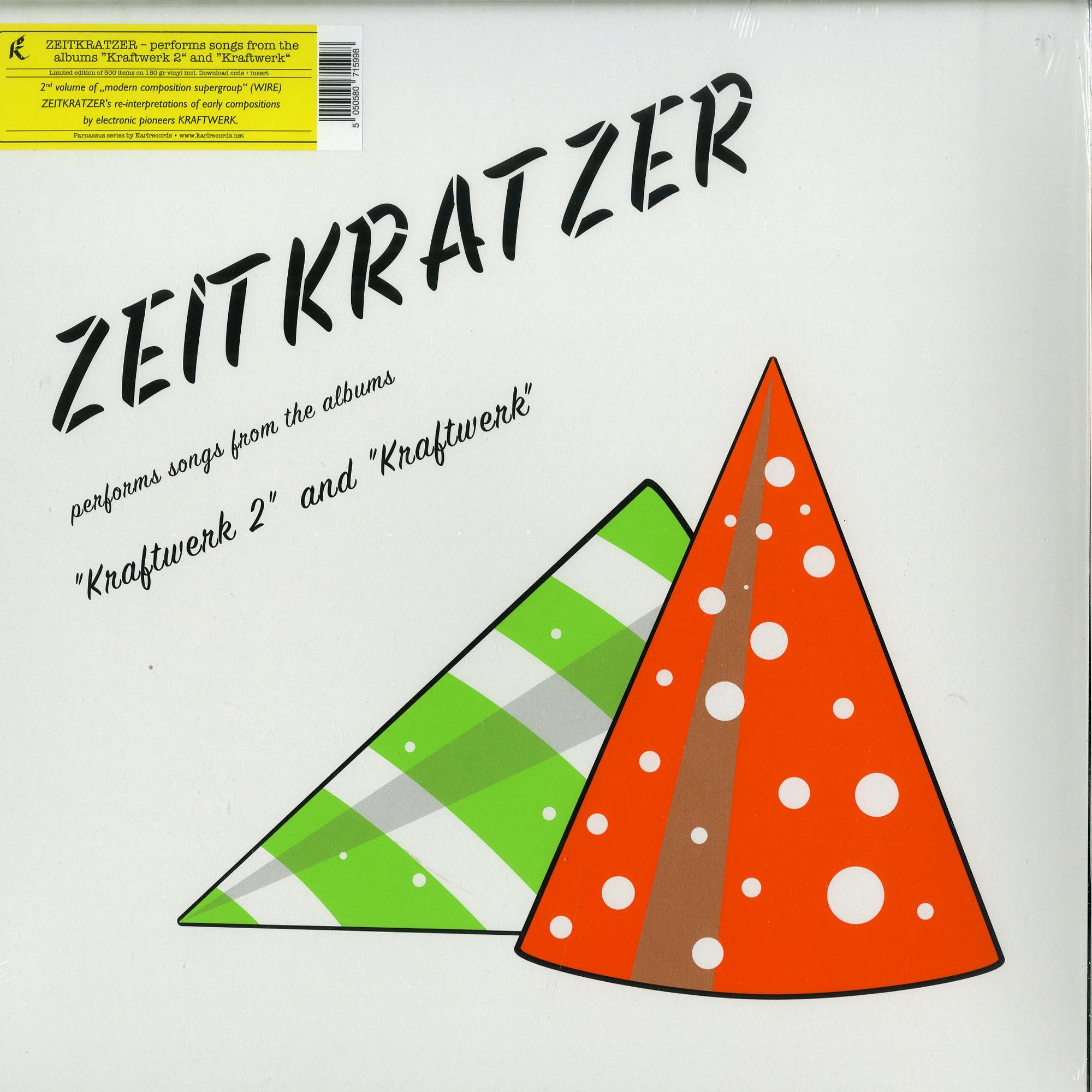 Zeitkratzer - ZEITKRATZER PERFORMS SONGS FROM THE ALBUMS KRAFTWERK 2 AND KRAFTWERK