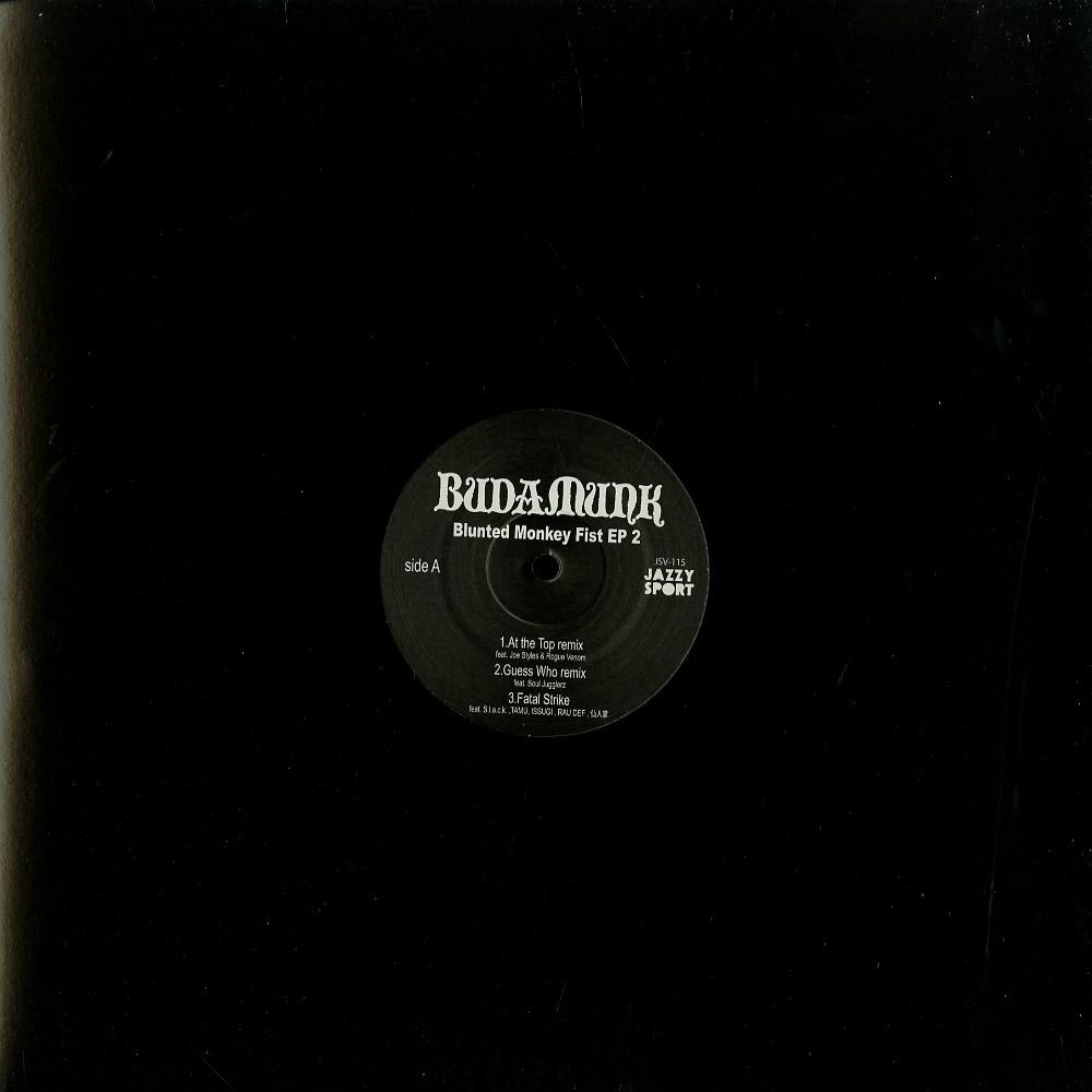 Budamunk - BLUNTED MONKEY FIST EP 2