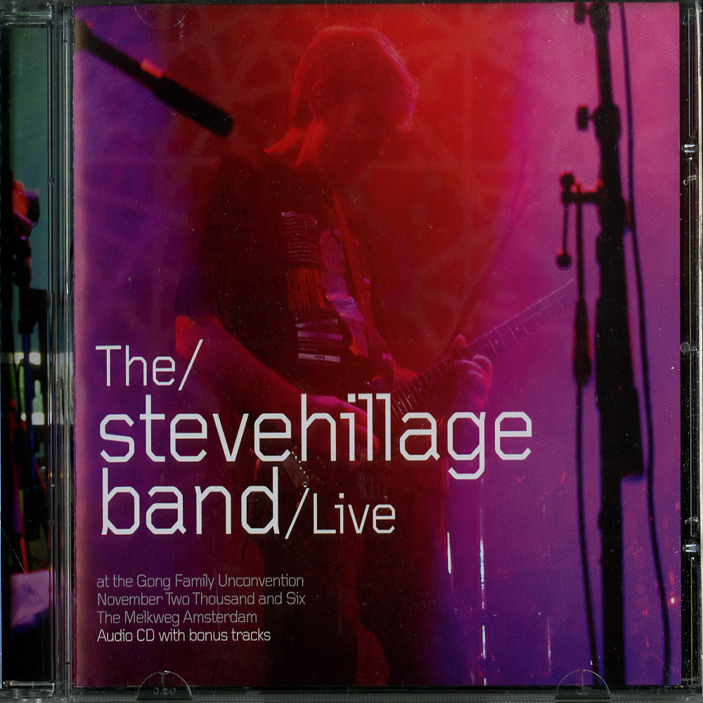Steve Hillage - LIVE AT THE GONG UNCONVENTION